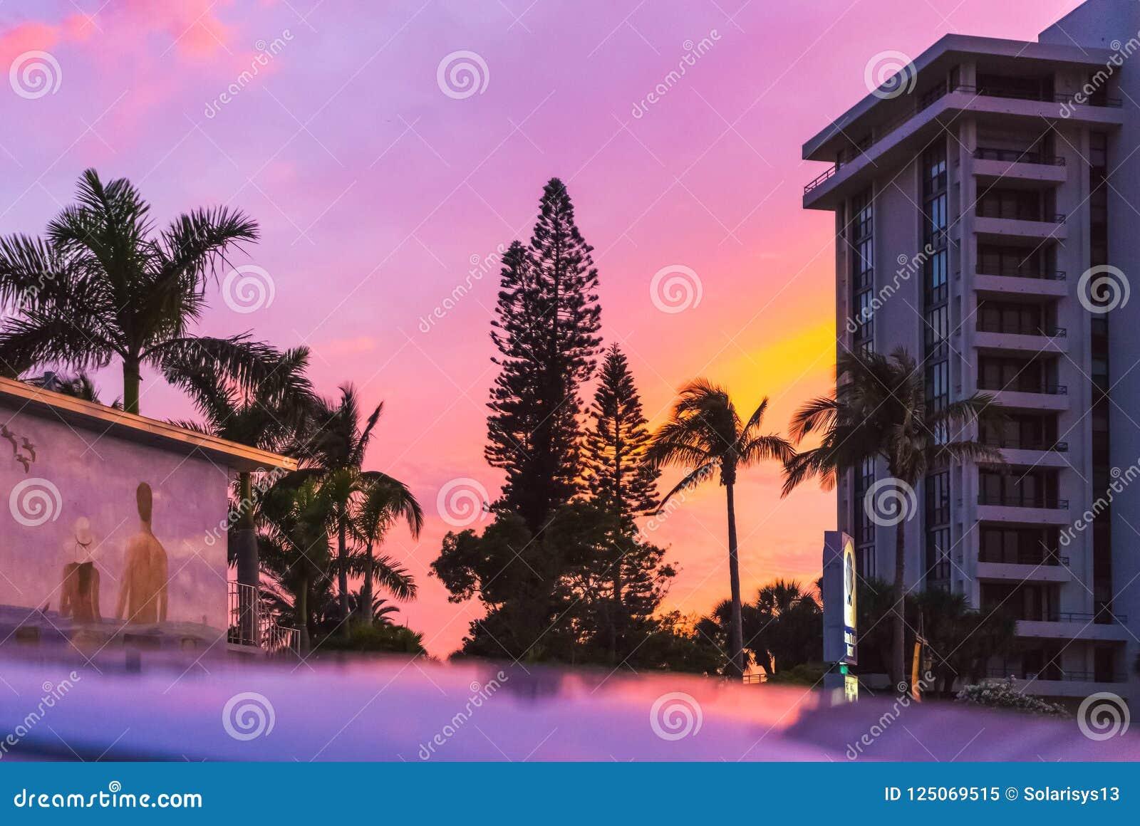 Siesta Key Usa May 11 2018 The Beach Hotel At Siesta