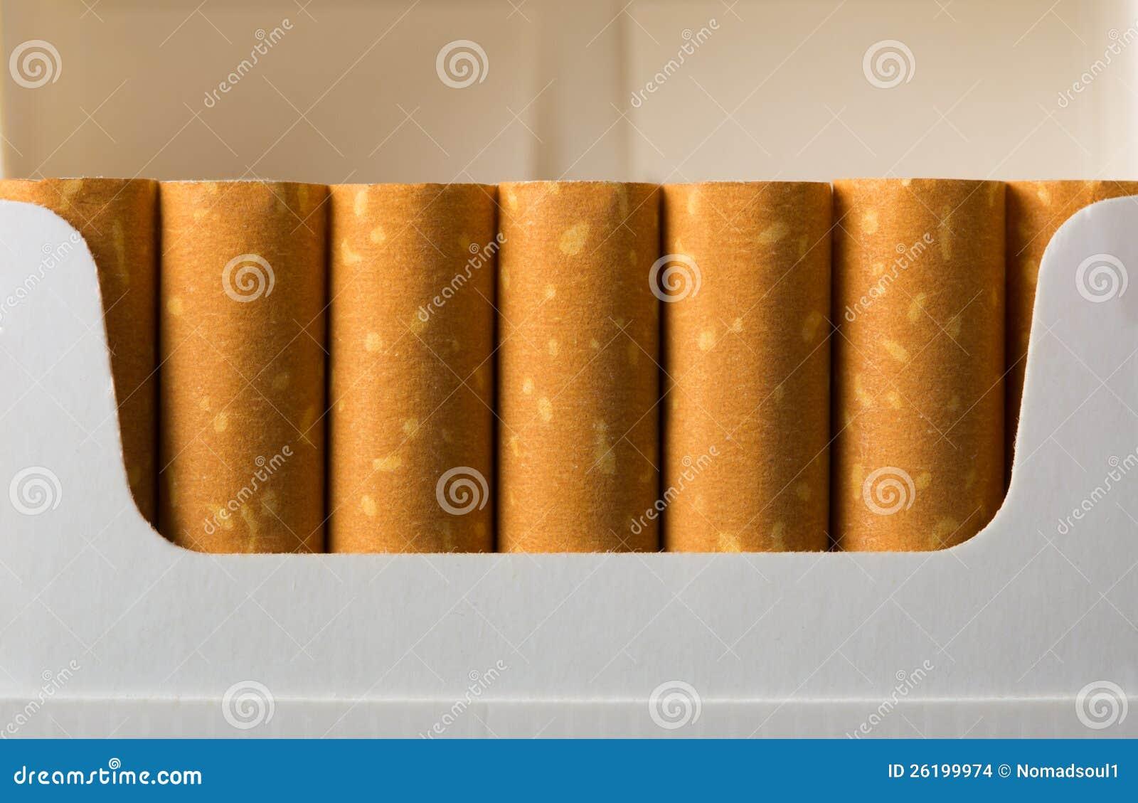 Sigaretten in pak