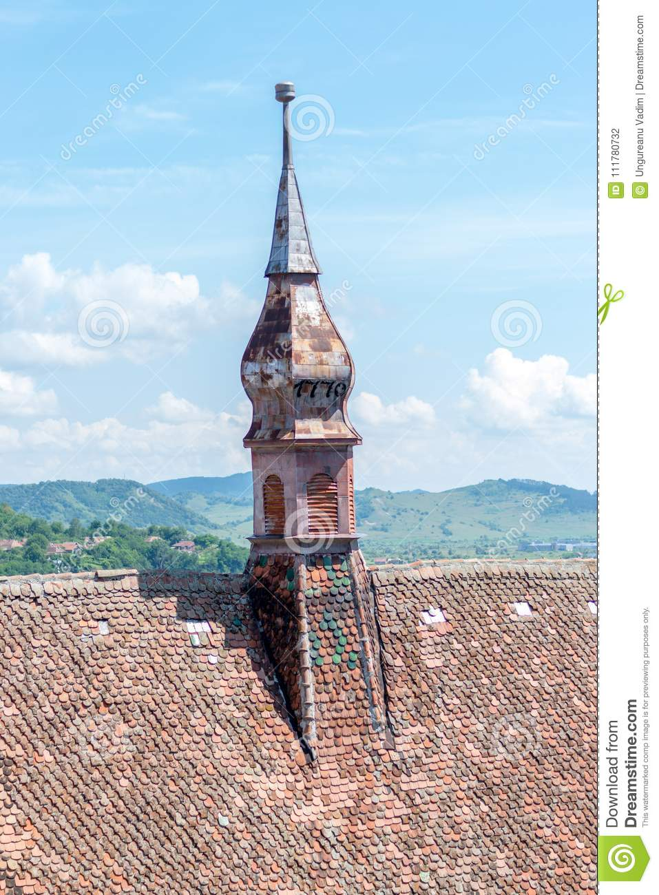 Sighisoara Evangelical Church on a sunny day.