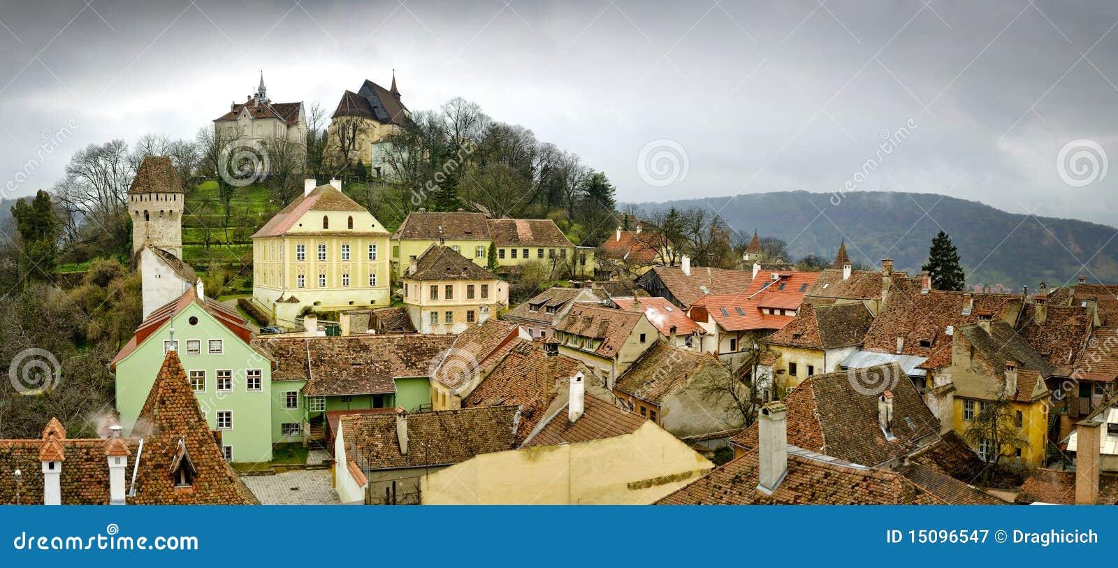 Sighisoara, middeleeuwse stad in Transsylvanië