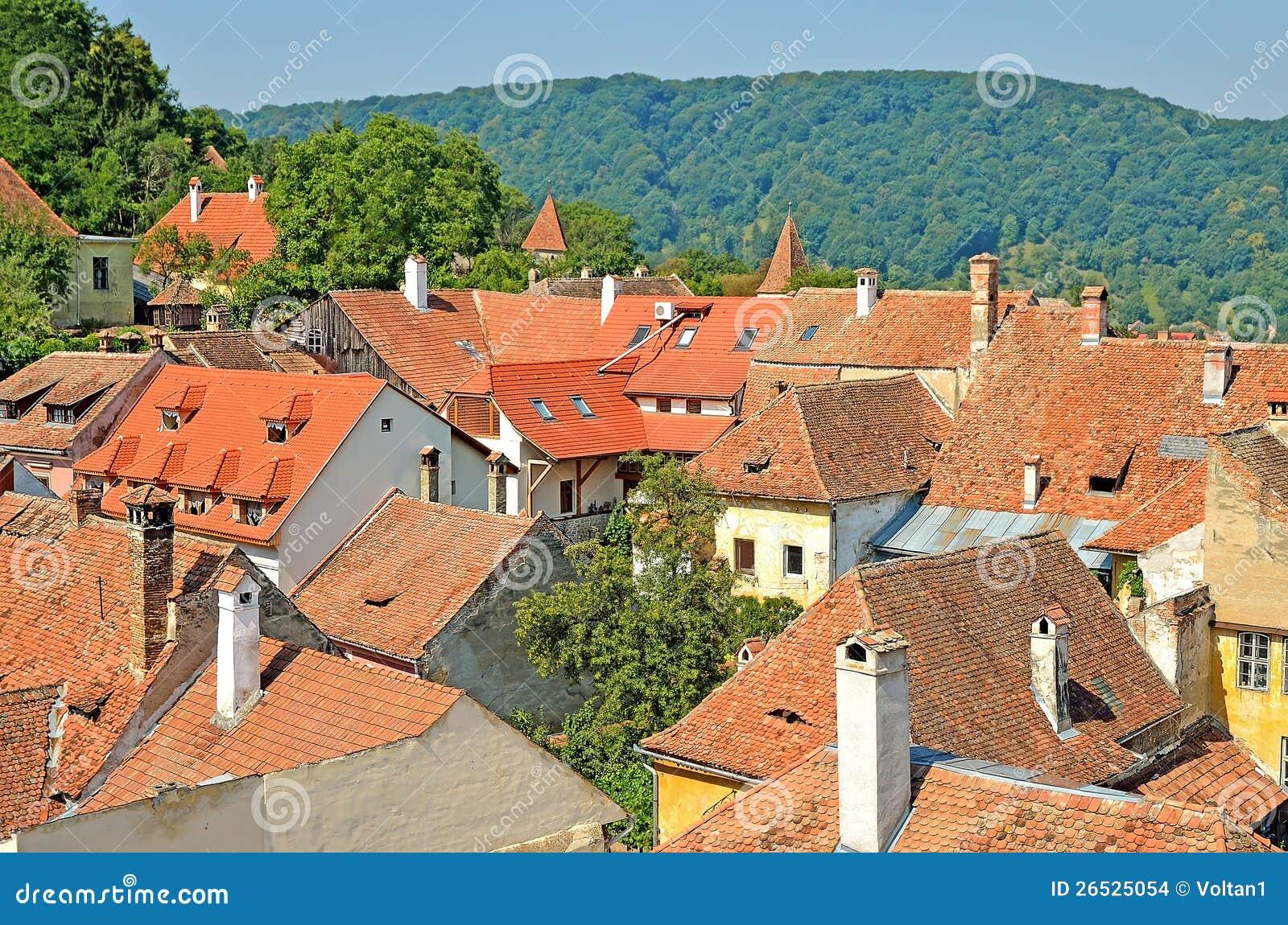 Sighisoara, Transylvania, Romania Stock Images - Image: 26525054