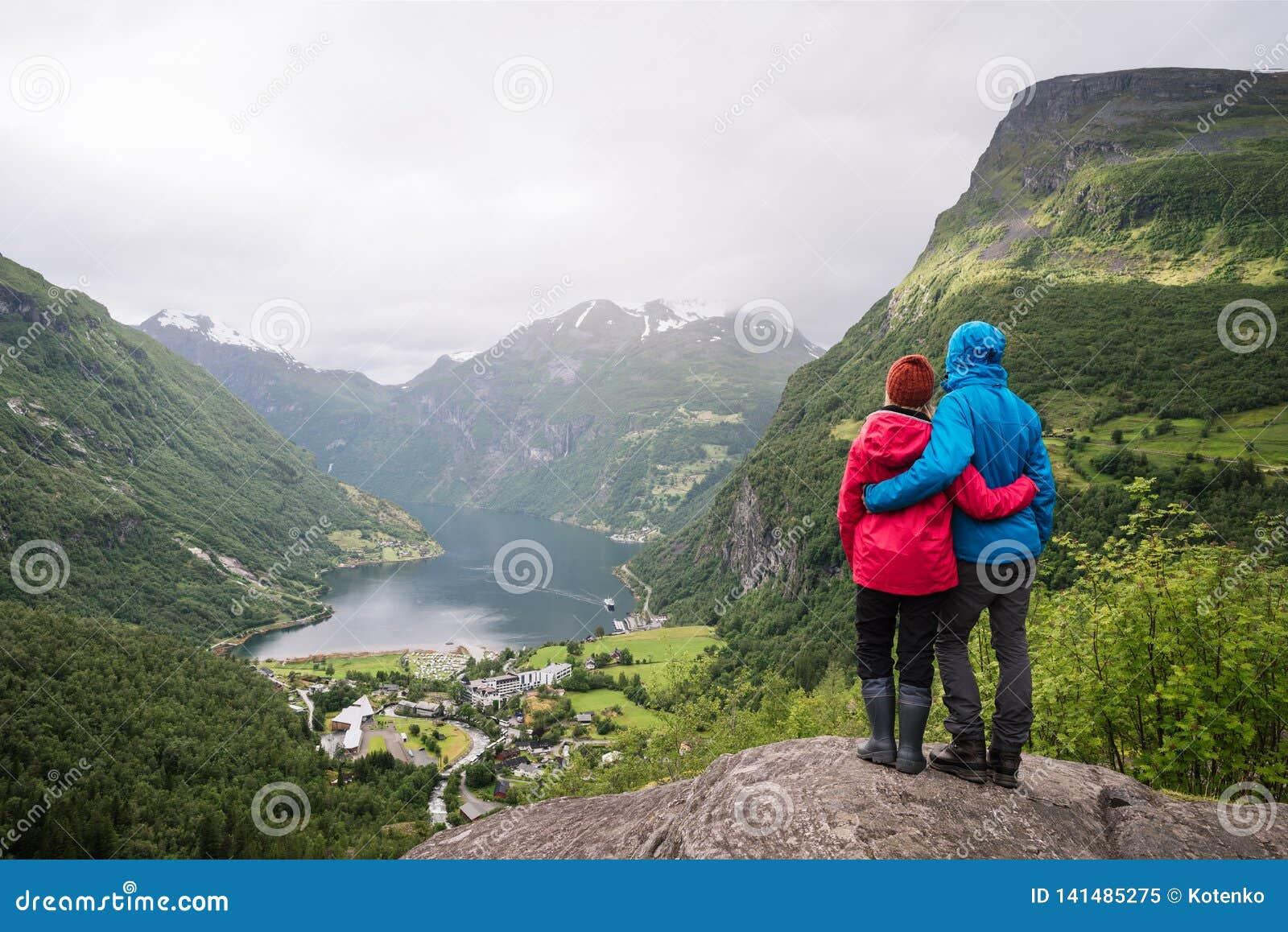 Sight av Geiranger, Norge