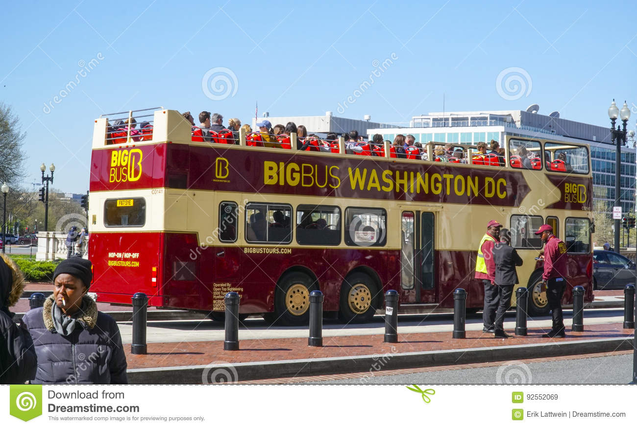 Washington Dc Tour Bus >> Sightseeing Tour By Bus At Washington Dc Washington Dc