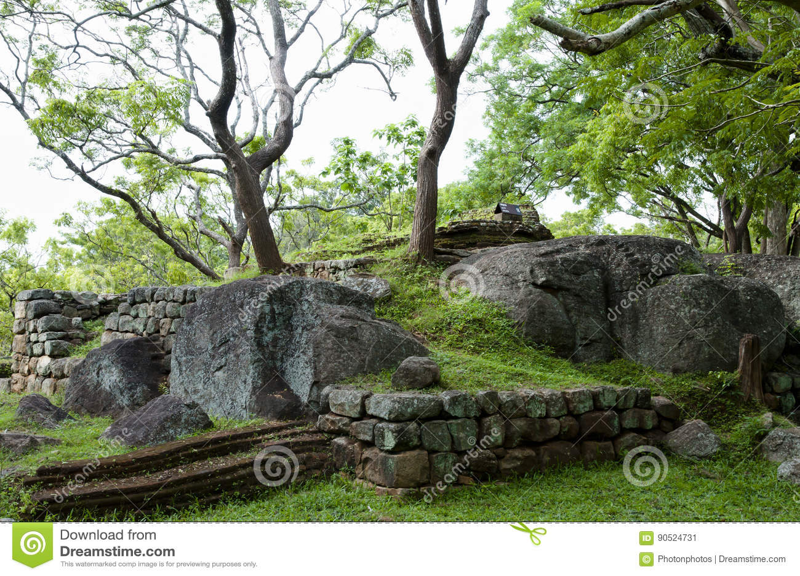 Sigiriya Boulder Garden   Sri Lanka