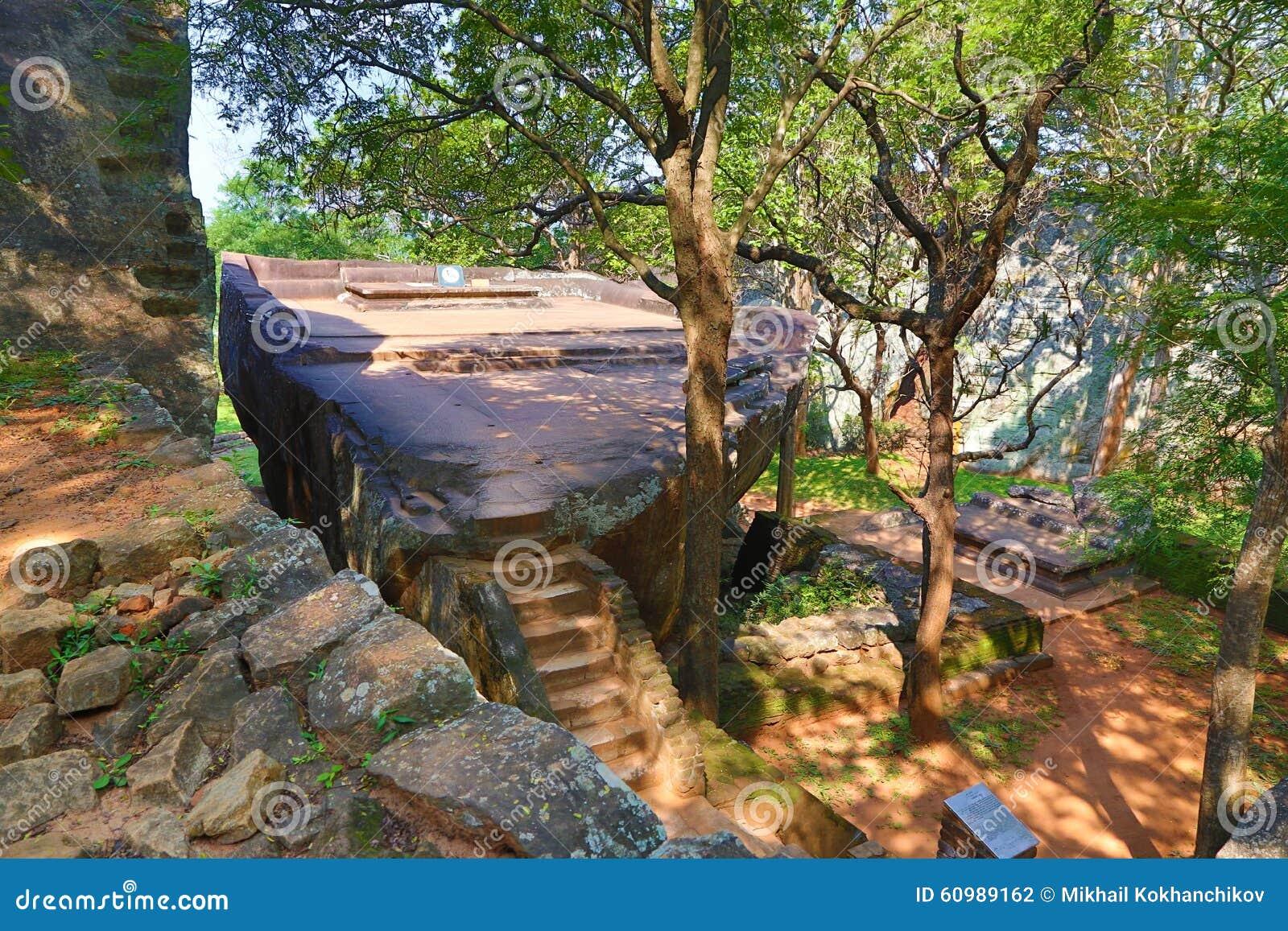 Sigiriya Garden In Sri Lanka Stock Photo Image Of Lankan Sigiriya