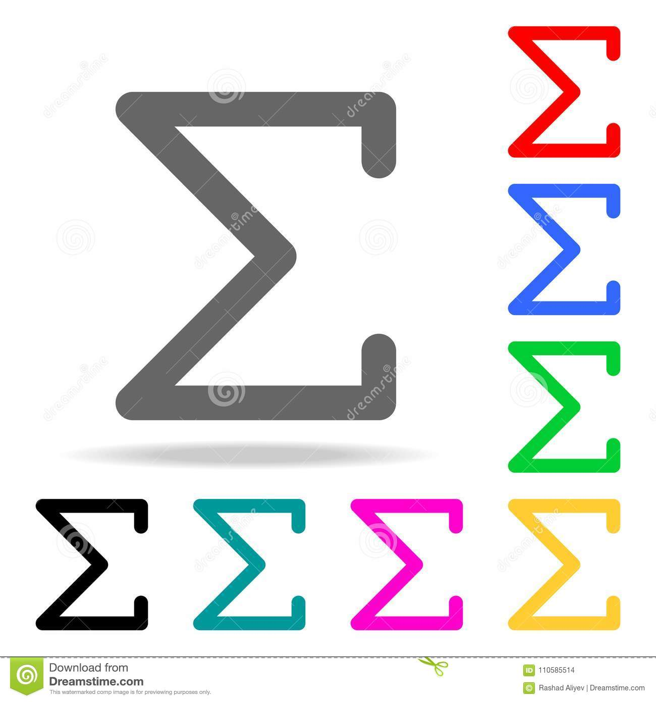 Sigma greek letter icon elements in multi colored icons for mobile sigma greek letter icon elements in multi colored icons for mobile concept and web apps icons for website design and development biocorpaavc Choice Image