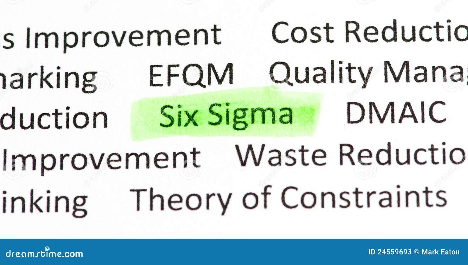 Sigma sześć