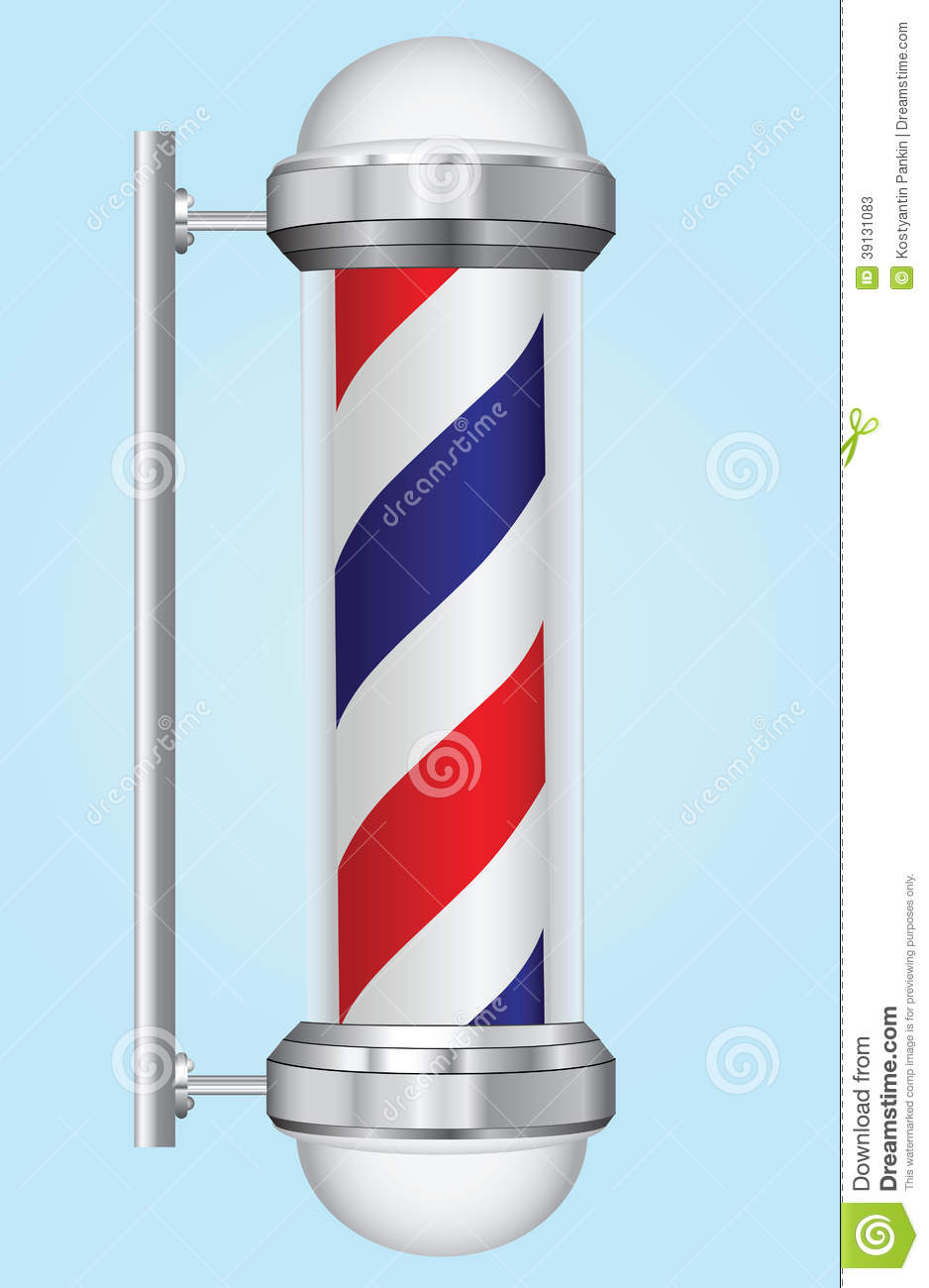 Sign Barber Stock Vector - Image: 39131083