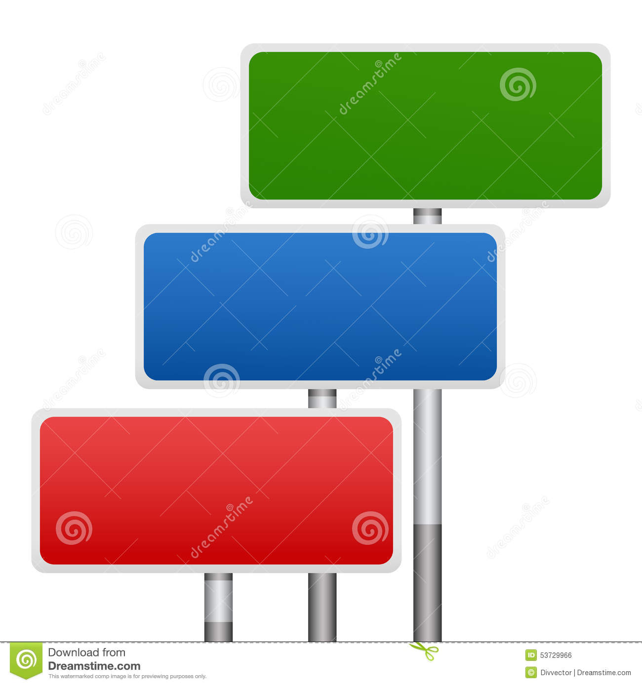 Sign board on isolated background ,beautiful vector file.
