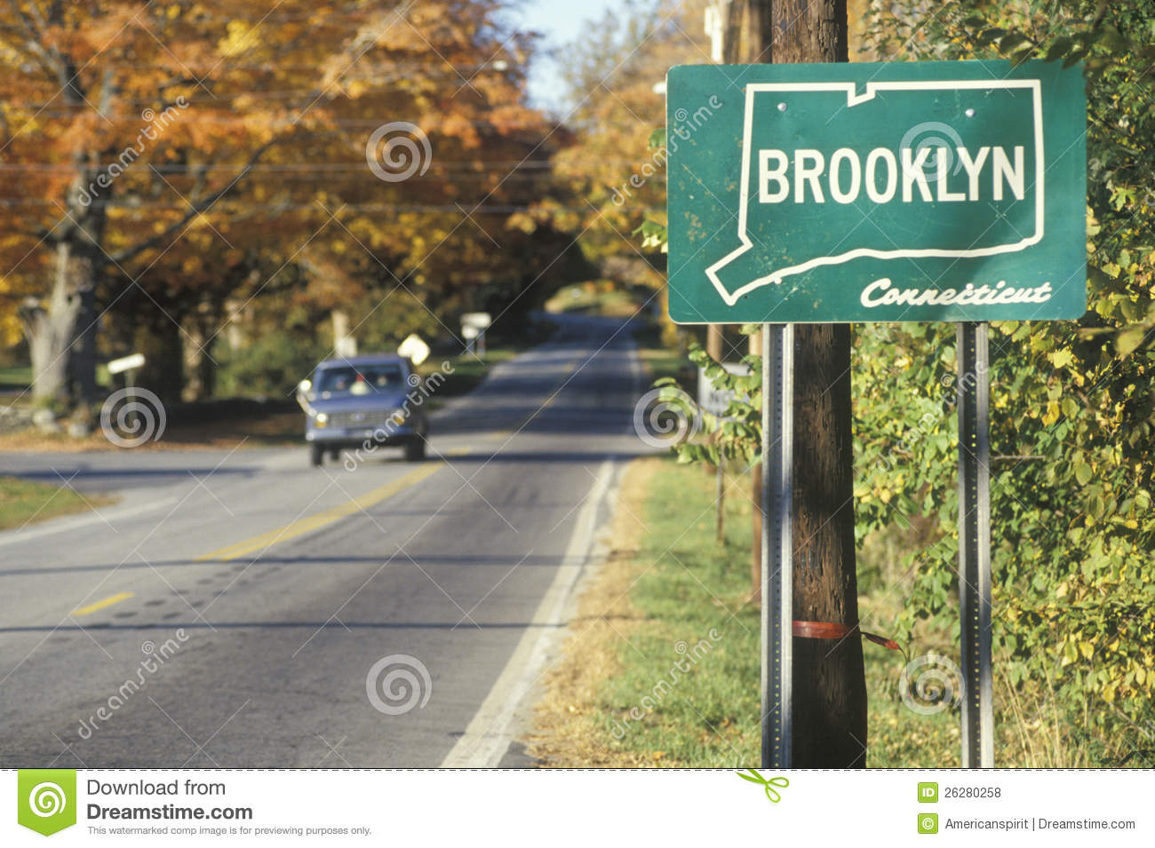 A sign for Brooklyn