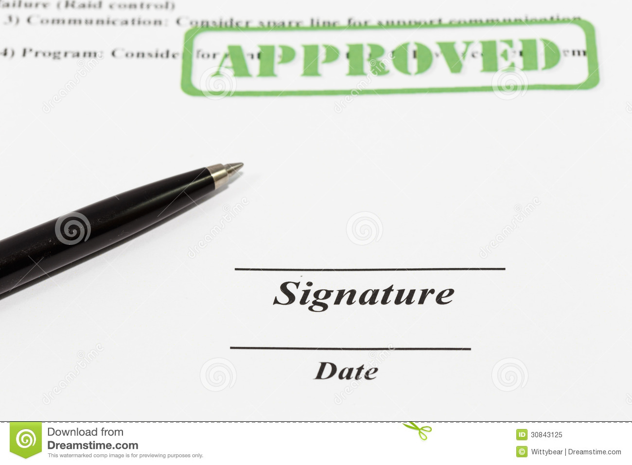 Signing and dating documents