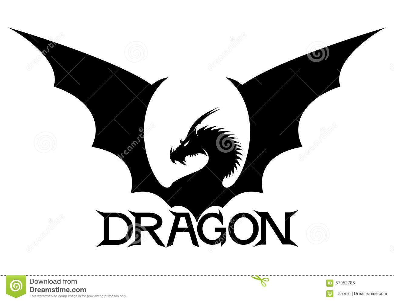 The sign of the dragon stock vector illustration of design 67952786 the sign of the dragon biocorpaavc Image collections