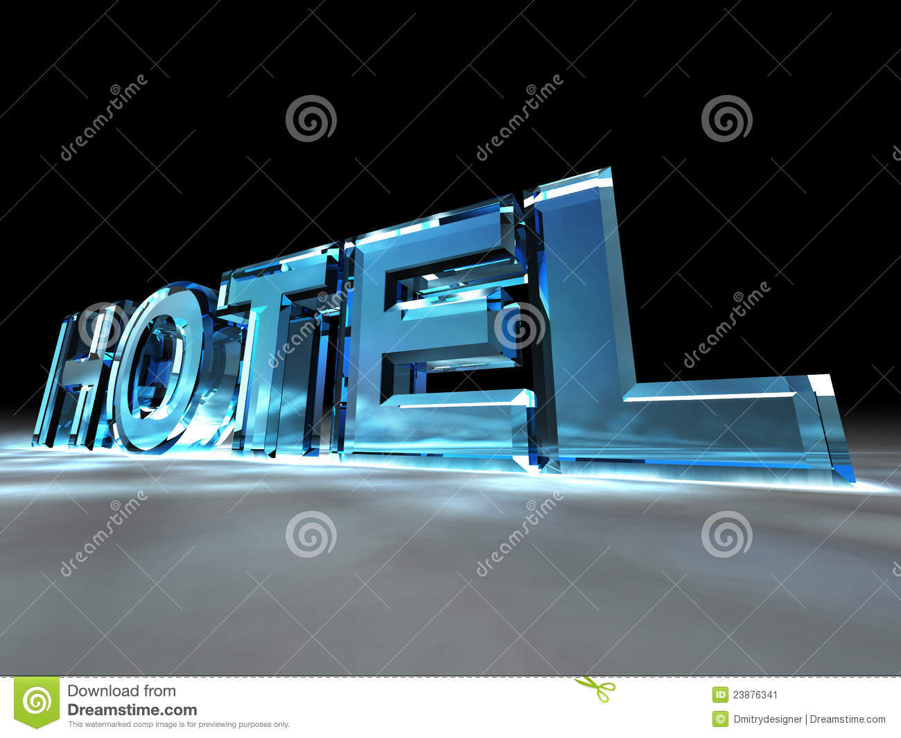 The sign Hotel