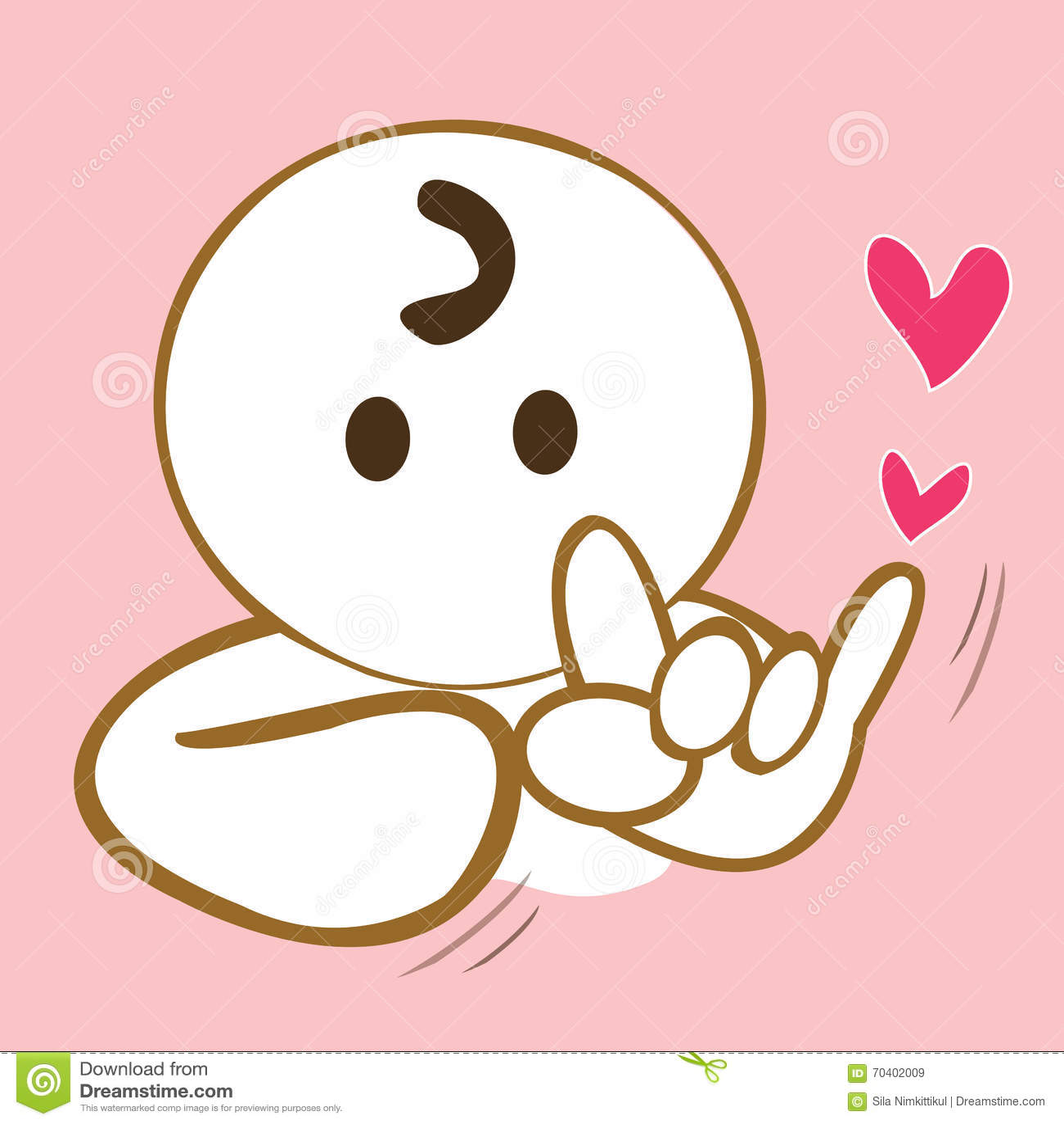Love Sign Language Stock Illustrations 2242 Love Sign Language