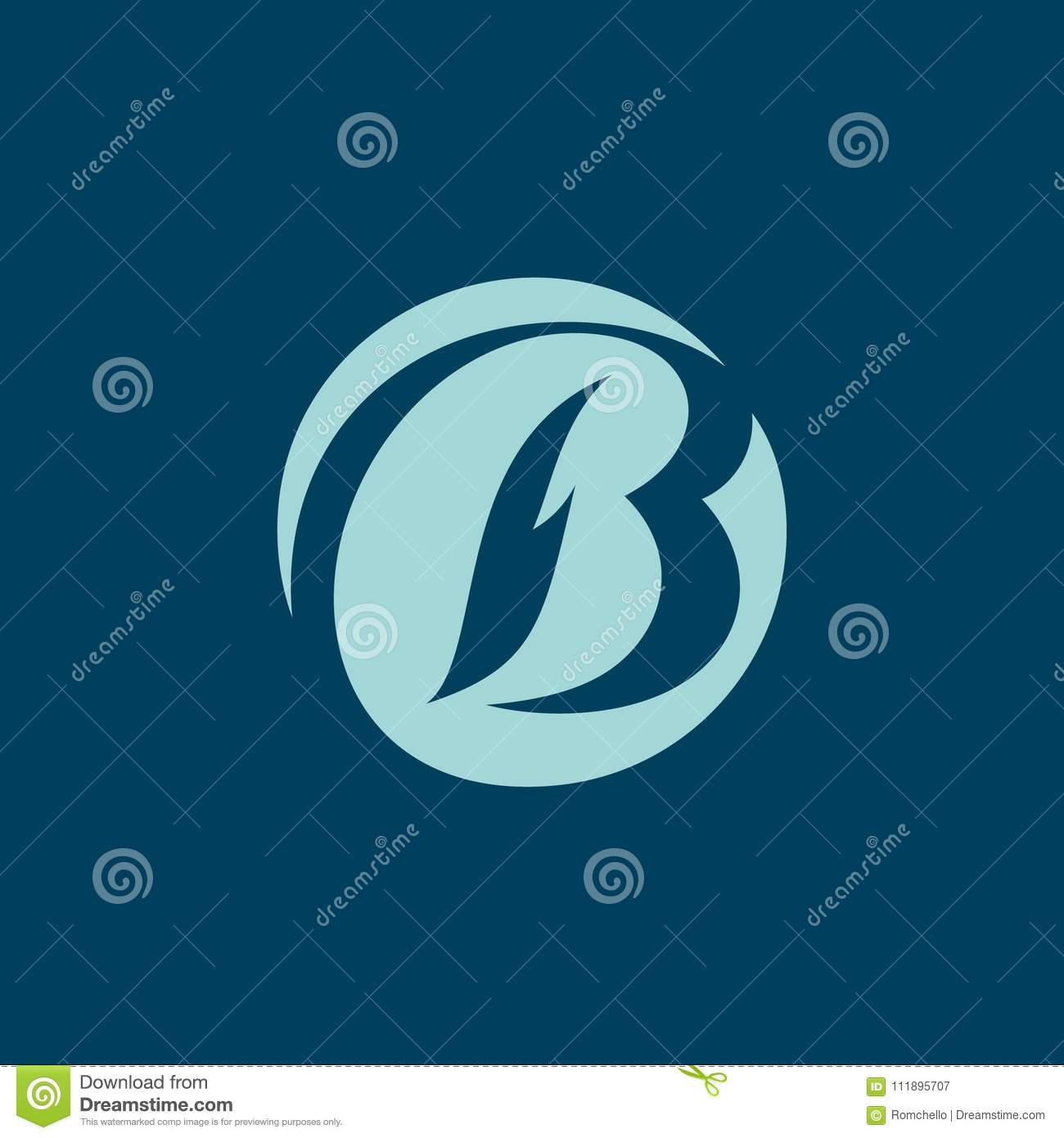 Sign the letter B