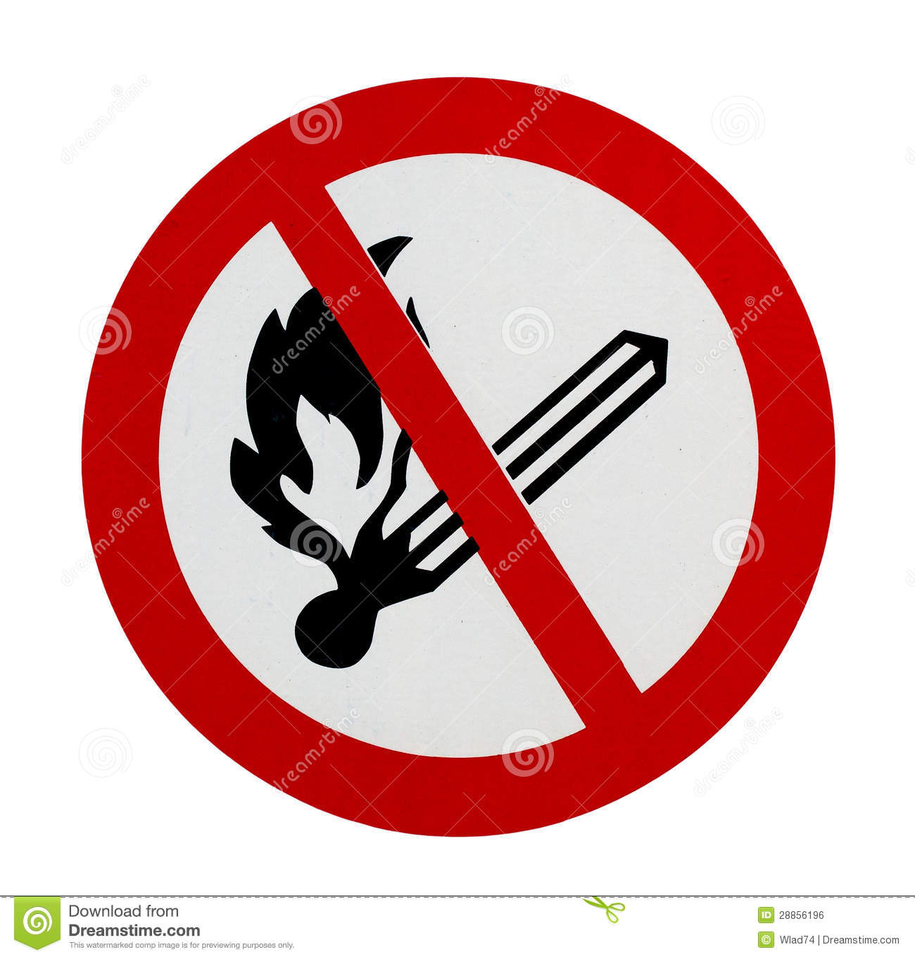 No naked light sign - Signs 2 Safety