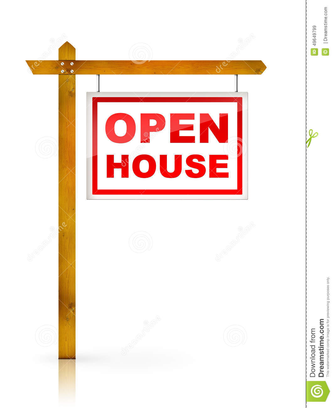 Royalty free stock images sign open house image 49649799 for Open home