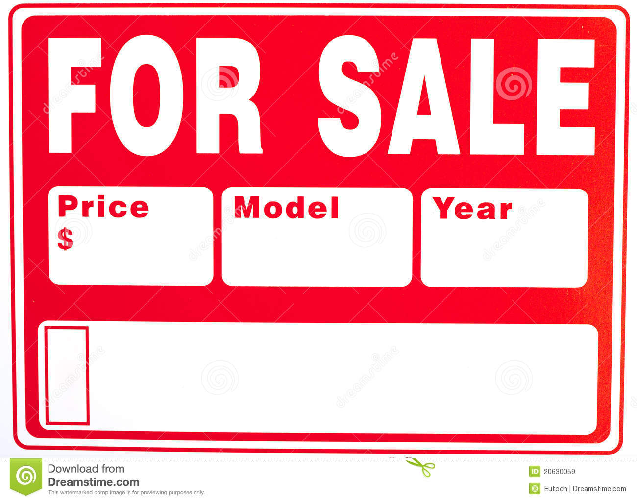 car sale sign template free .