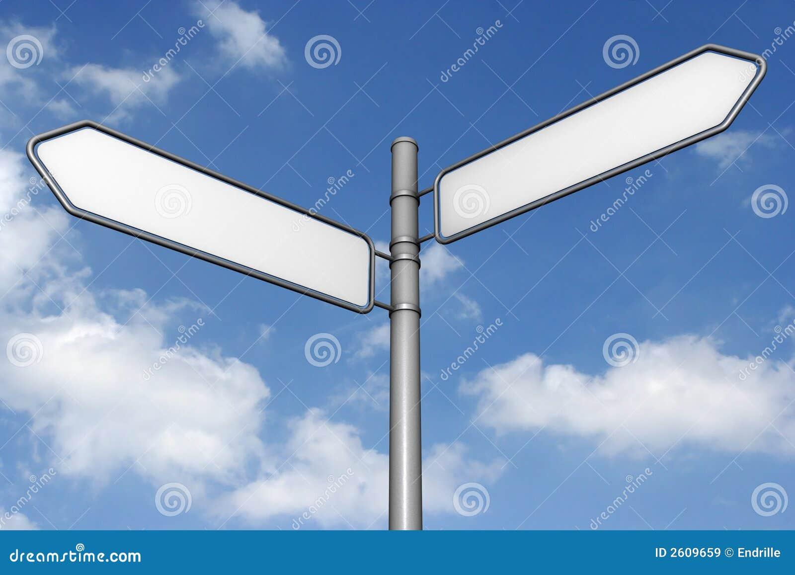 Sign sky