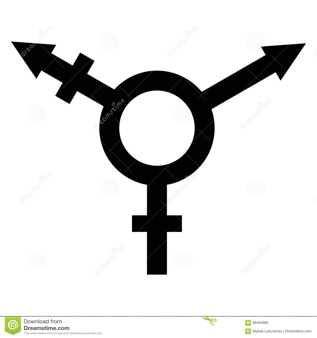 Sign symbol of gender equality stock vector illustration of sign symbol of gender equality buycottarizona Image collections