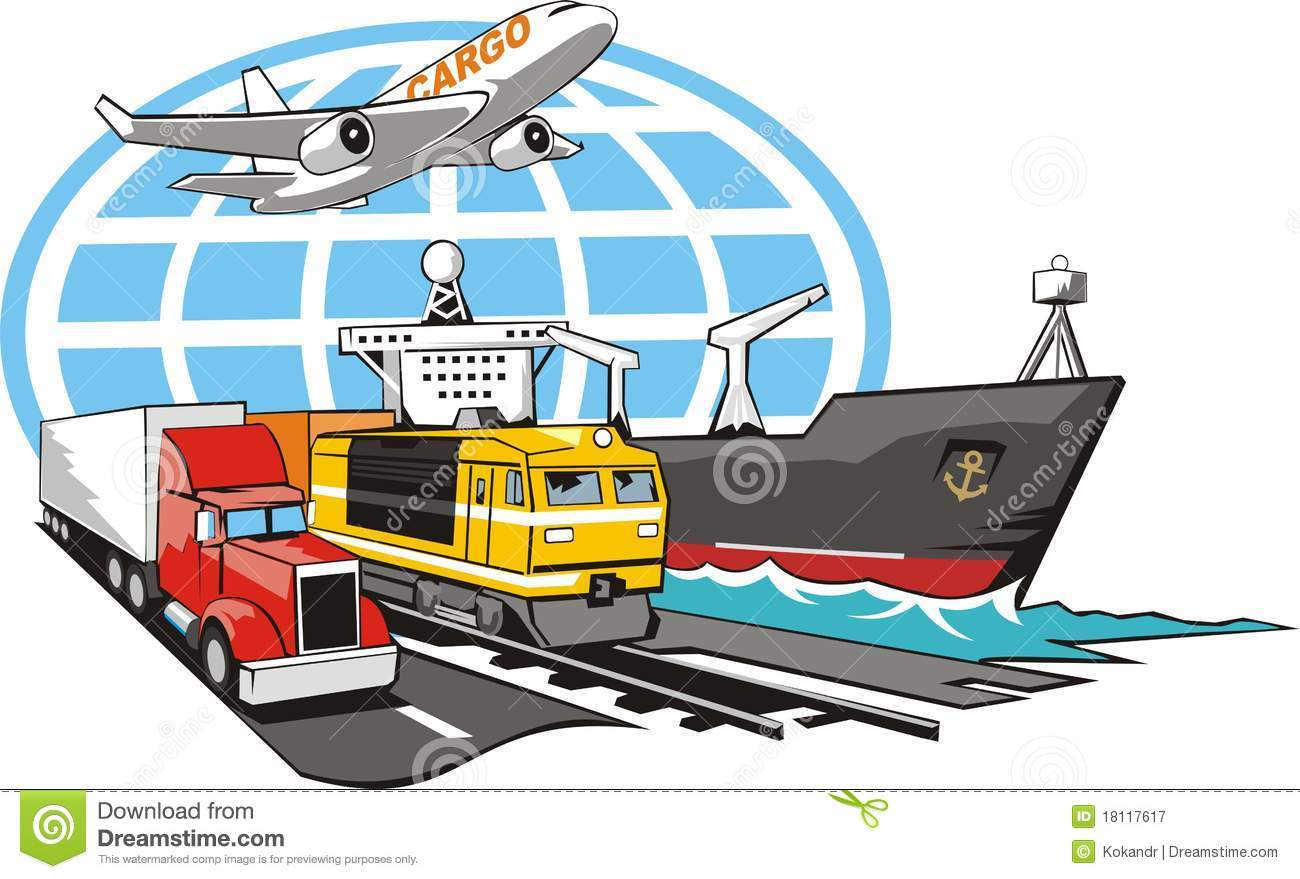 ... Transportation Cargo Royalty Free Stock Photography - Image: 18117617