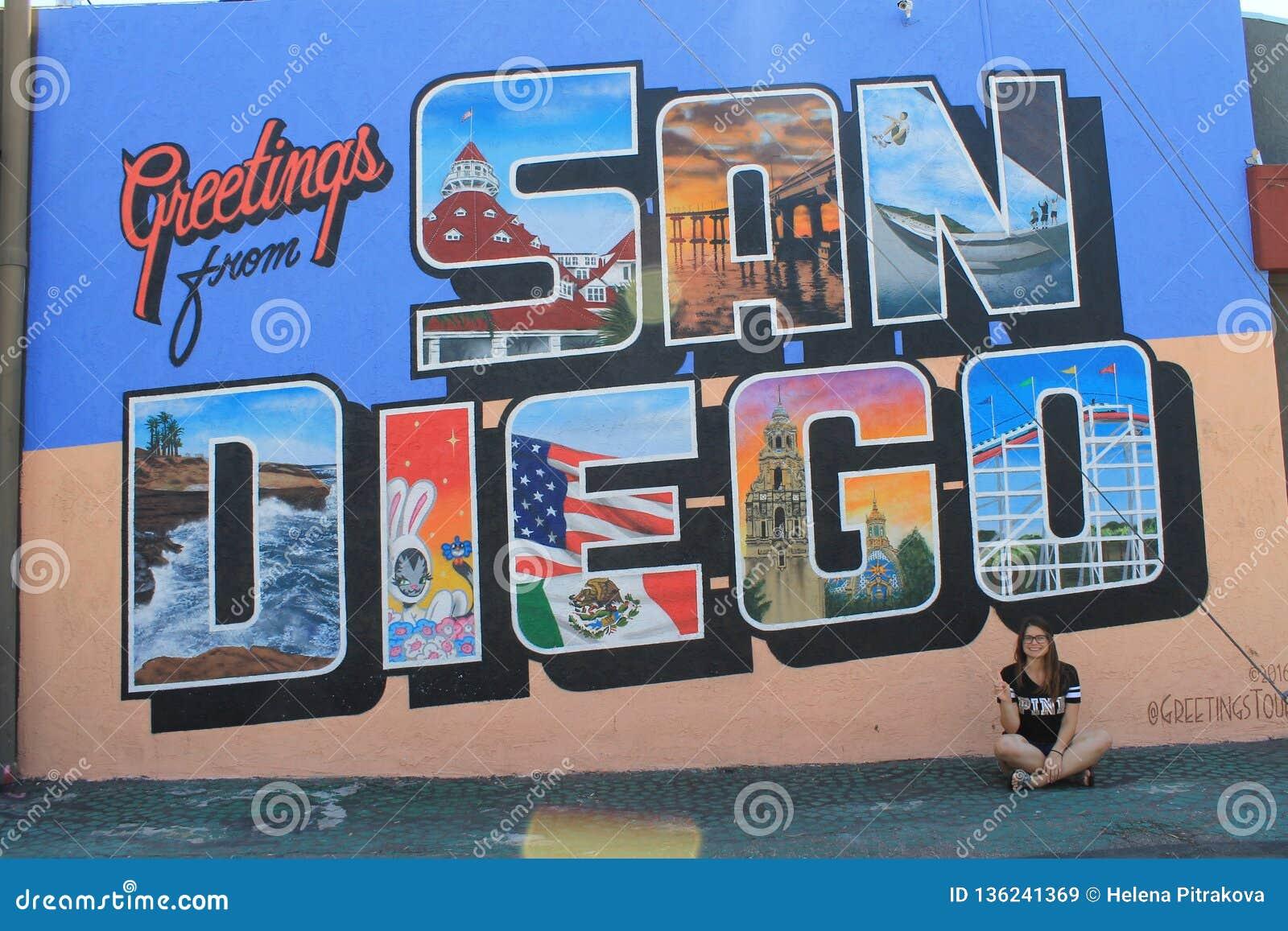 Greetings from San Diego, California, USA