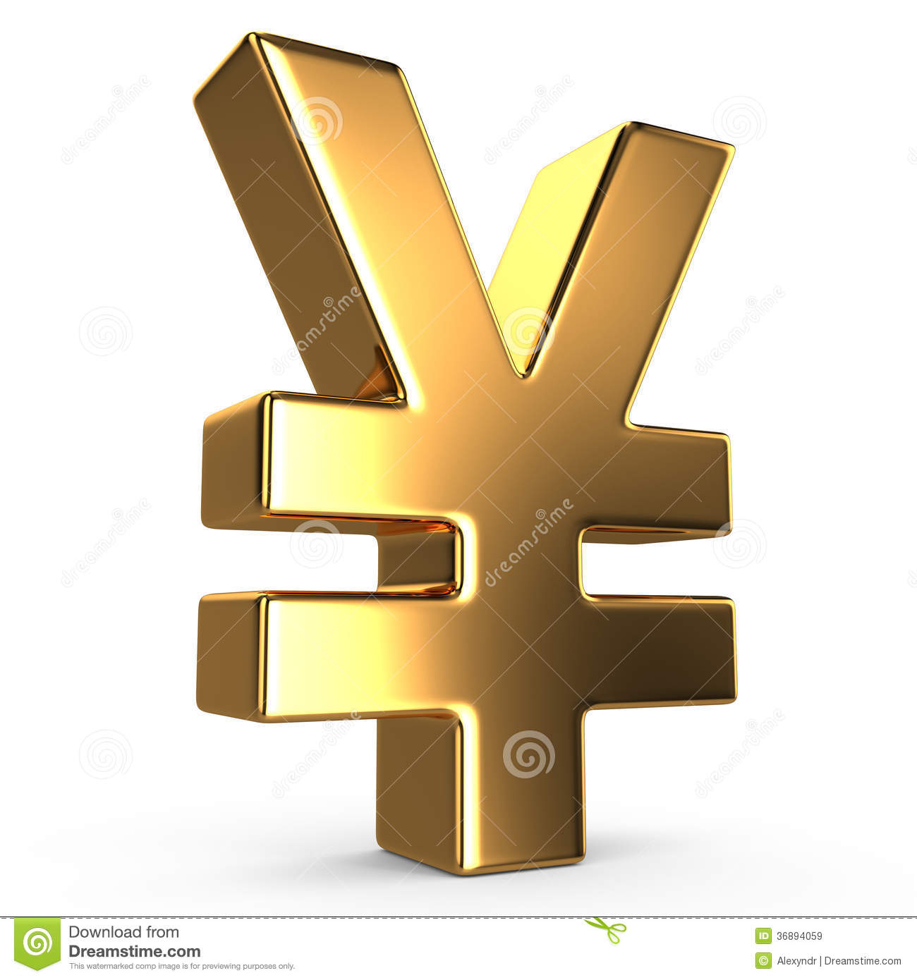 Sign Of Yuan Royalty Free Stock Images - Image: 36894059