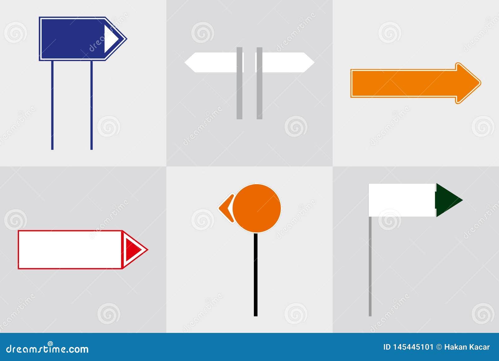 Signage ext?rieur de signe de pyl?ne de signe de monument de bureau annon?ant la construction illustration 3D