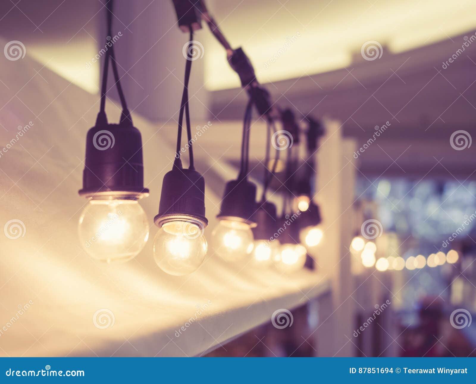 Signal för tappning för festival för ljusgarneringhändelse utomhus-