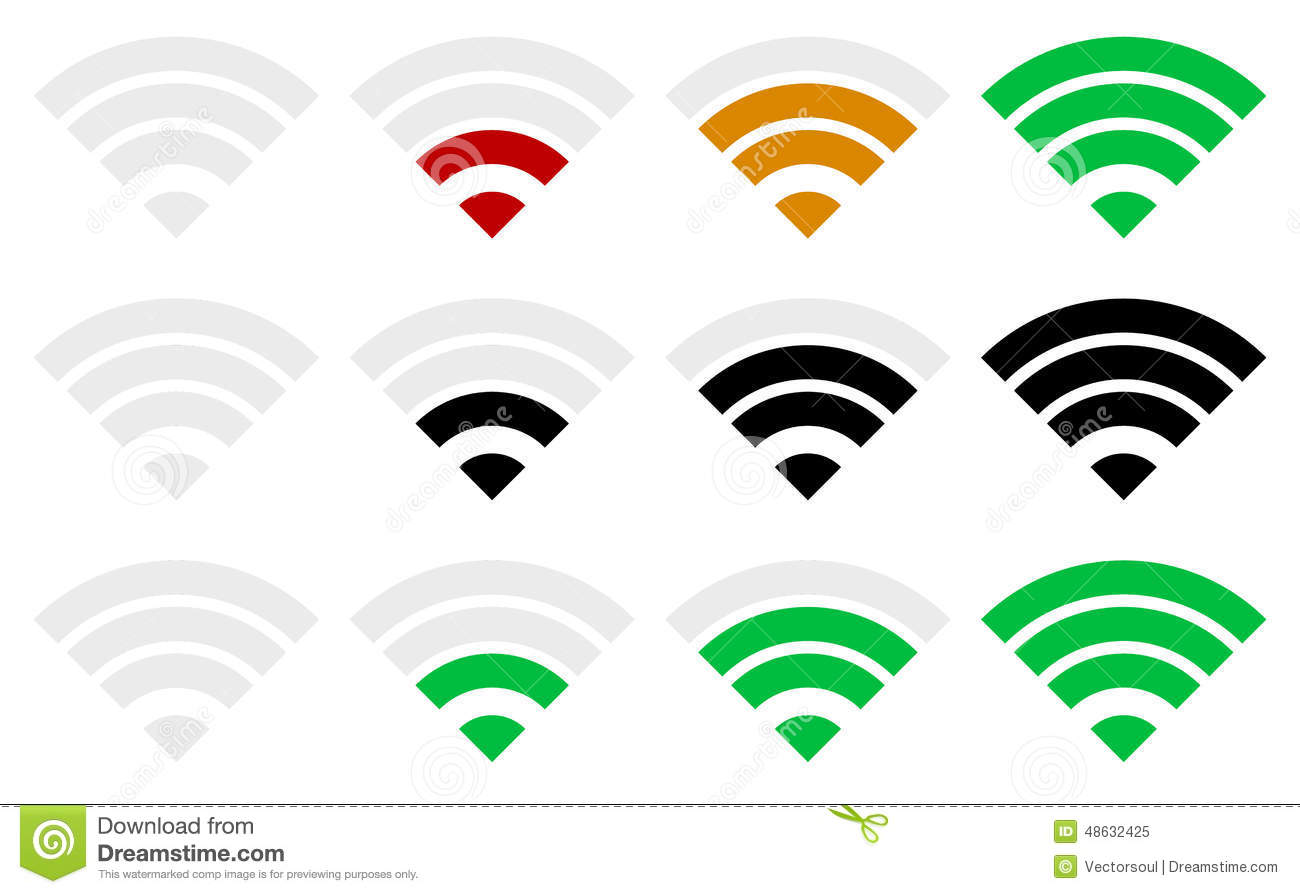 Home Wireless Plans Images Office Door Mail Holder Wall  : signal strength indicator template wi fi wireless connection vector illustration simple indicatosr antenna 48632425 from zenlaser.co size 1300 x 894 jpeg 76kB