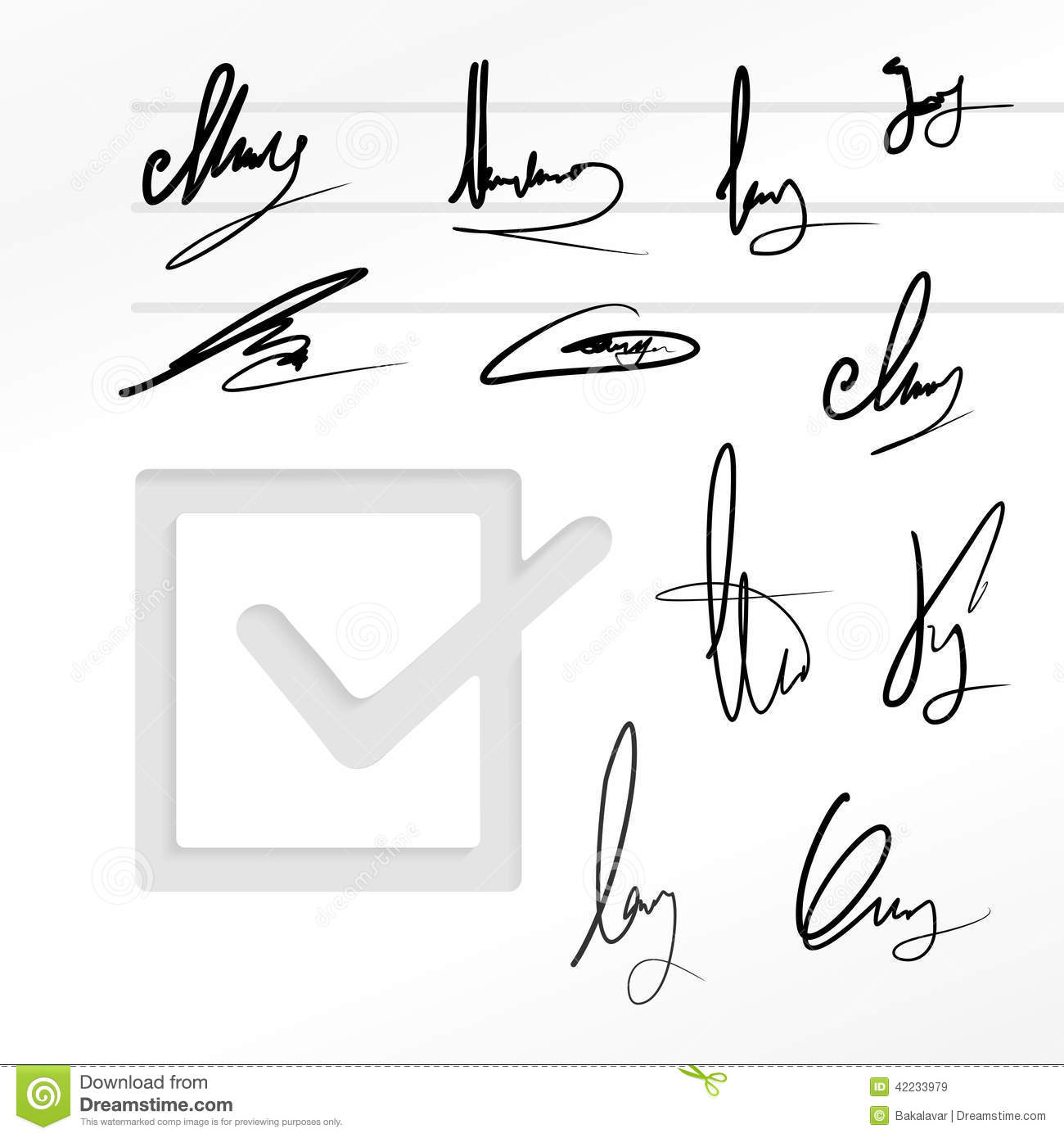 how to set up a signature for a legal document