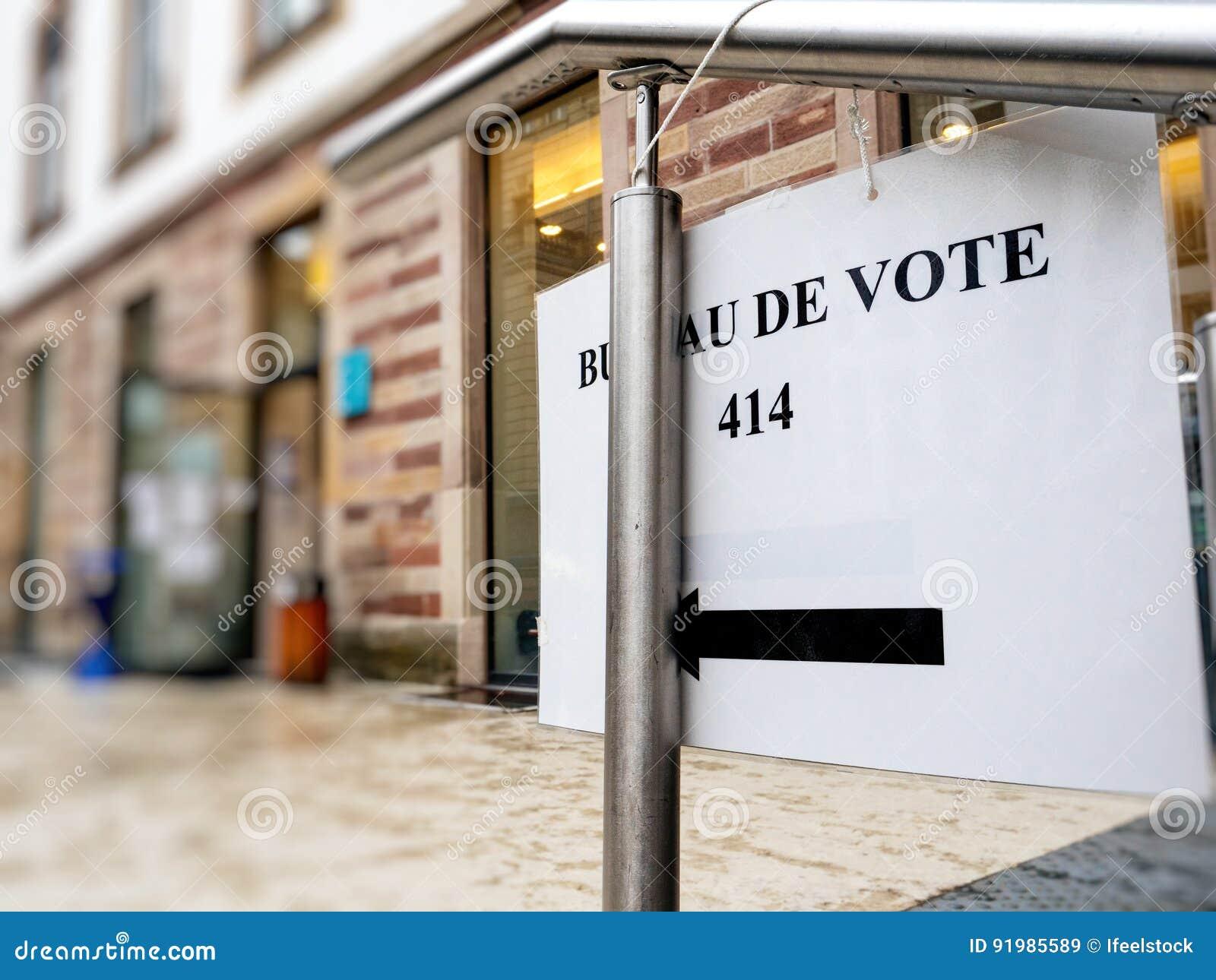 Les bureaux de vote ont ouvert en france