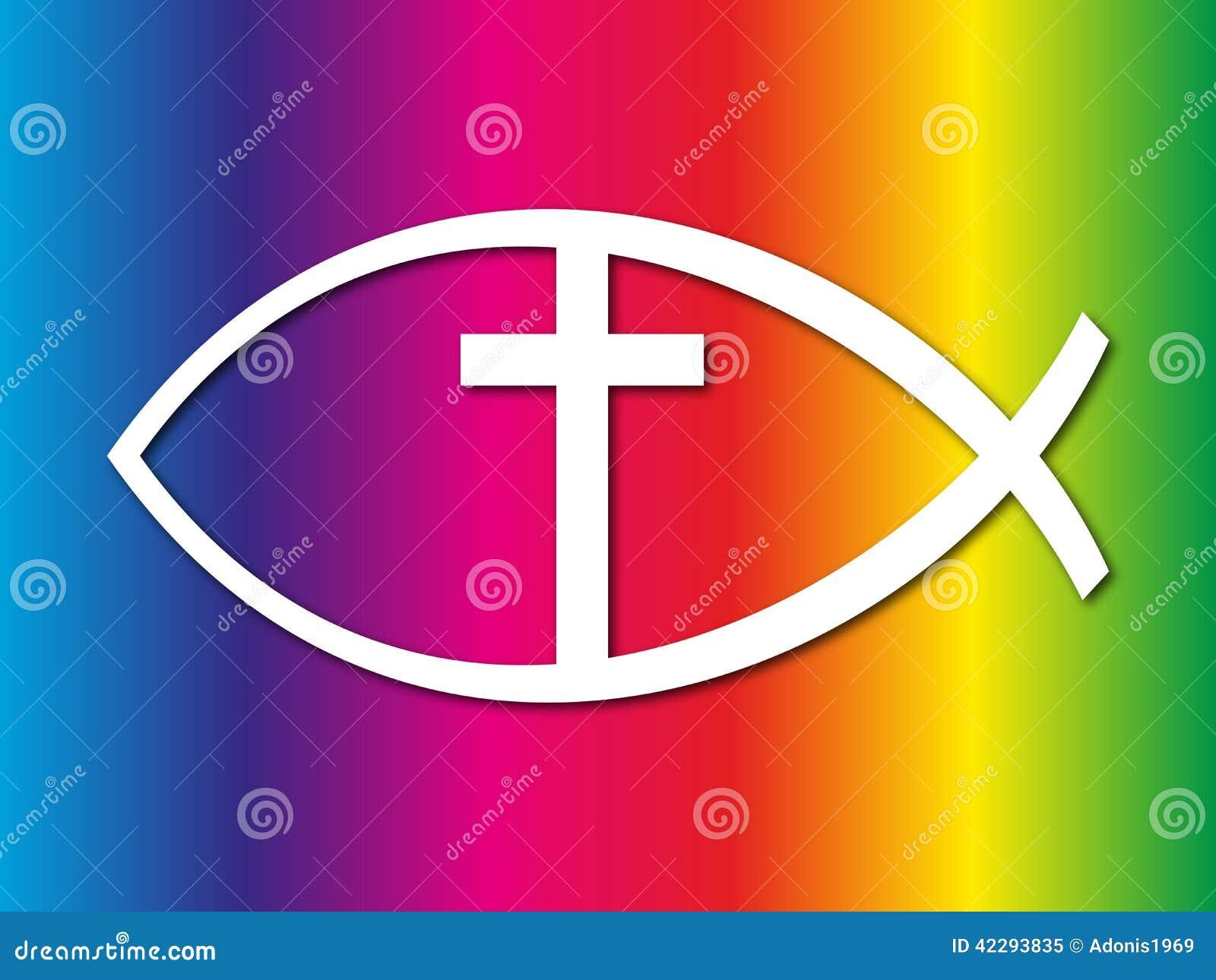 Signe chrétien de poissons