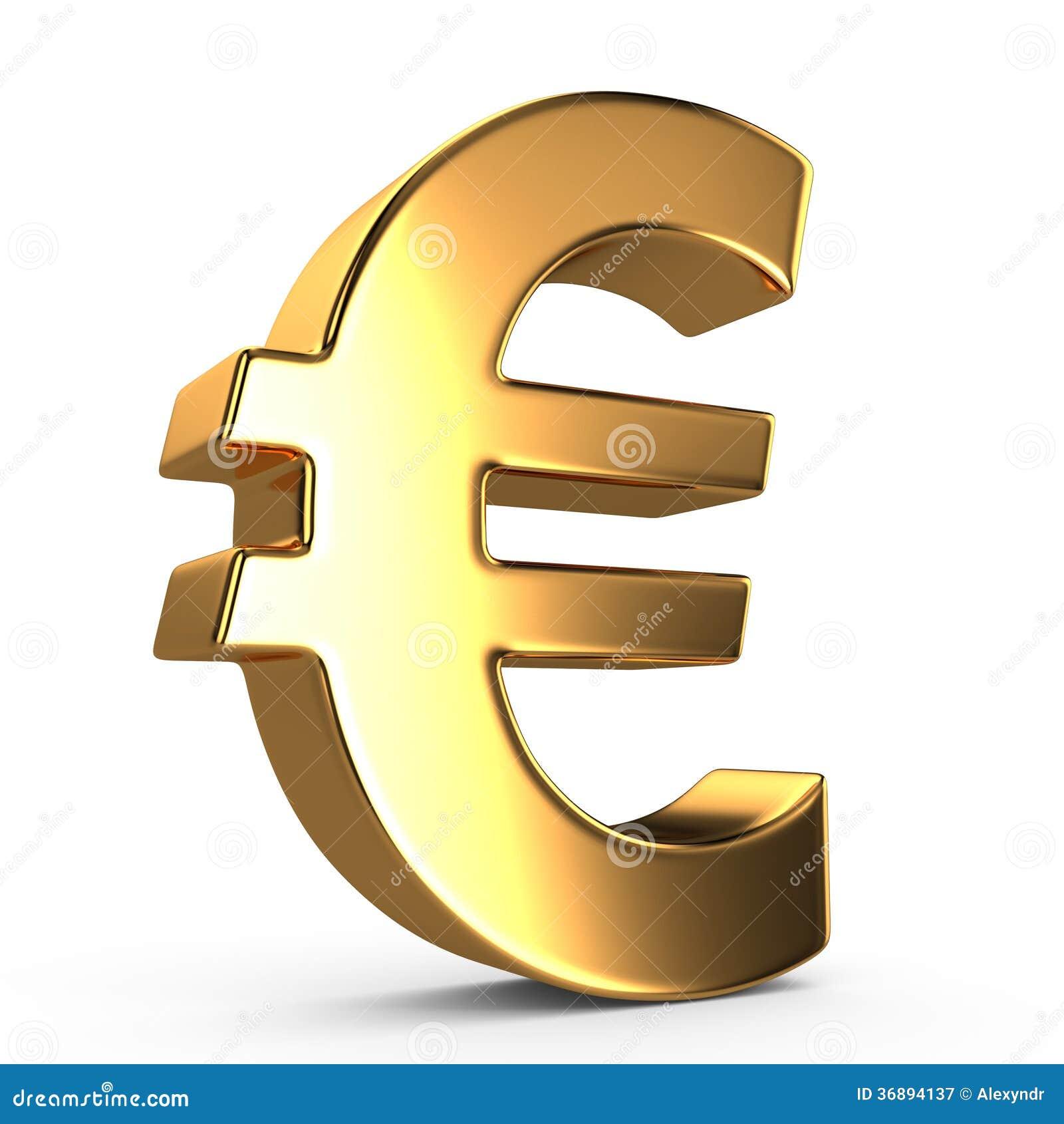Signe d euro