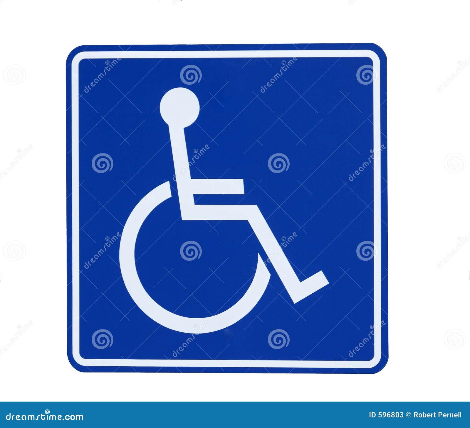 Signe d handicap