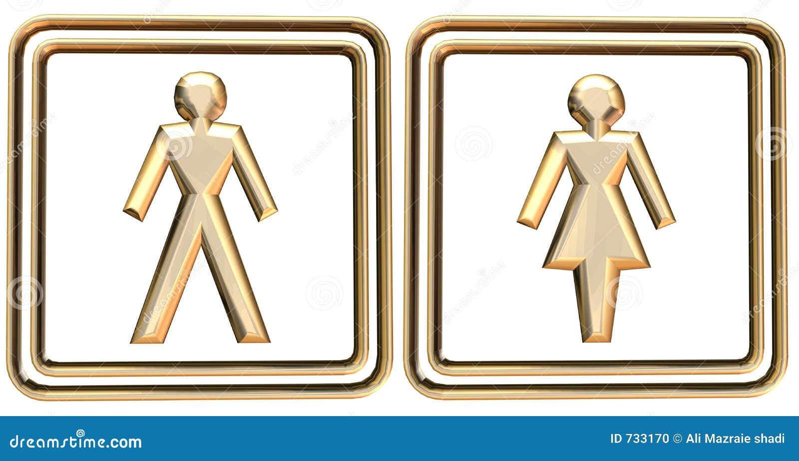 Signe d homme et de femme