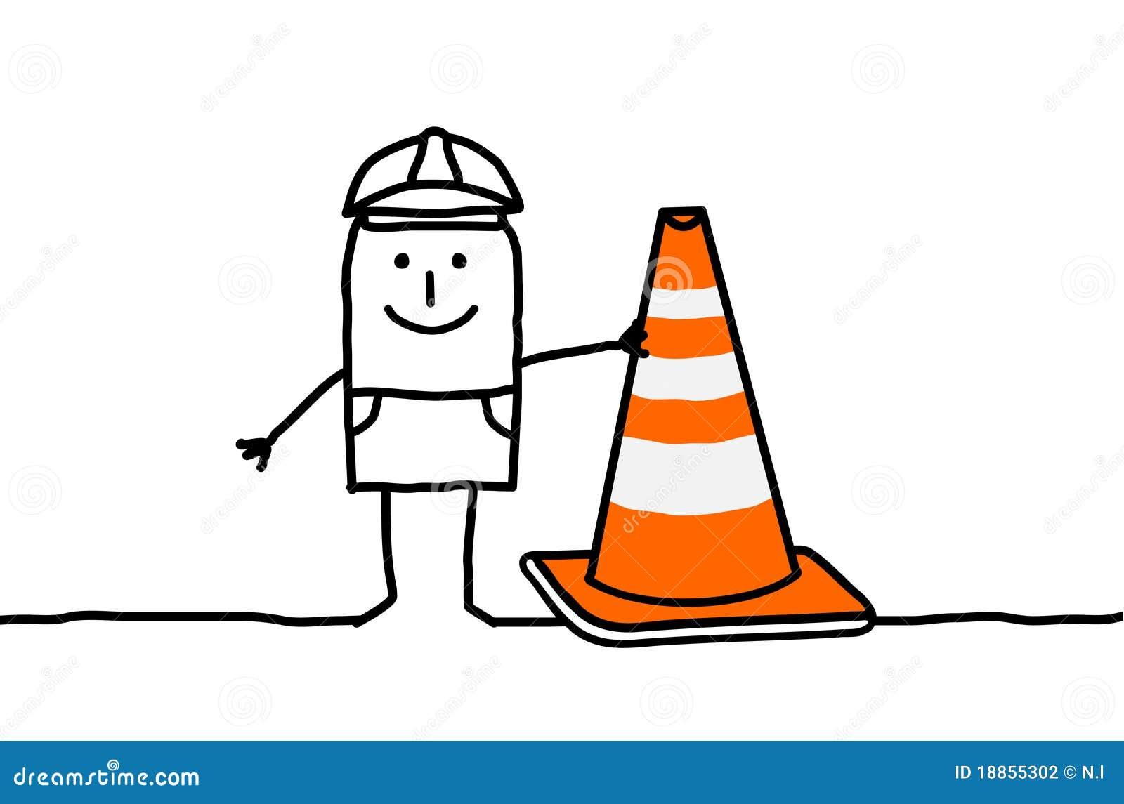 Signe d ouvrier et de construction