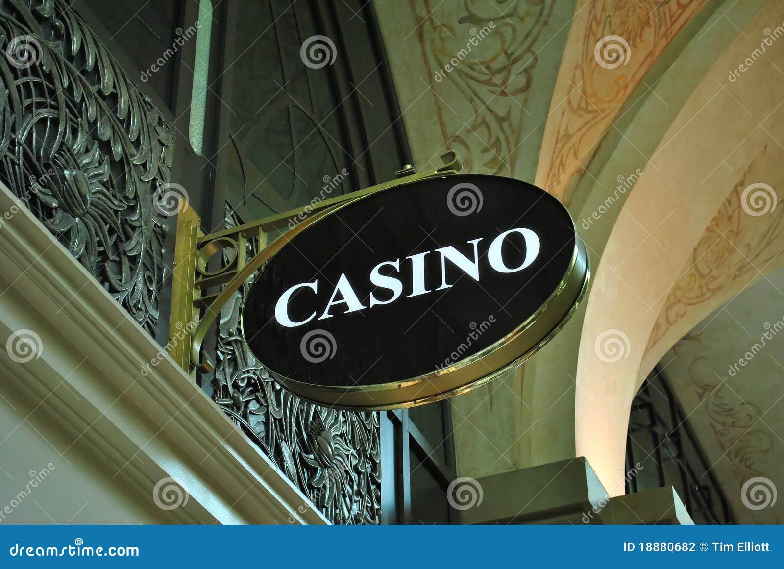 Signe de casino
