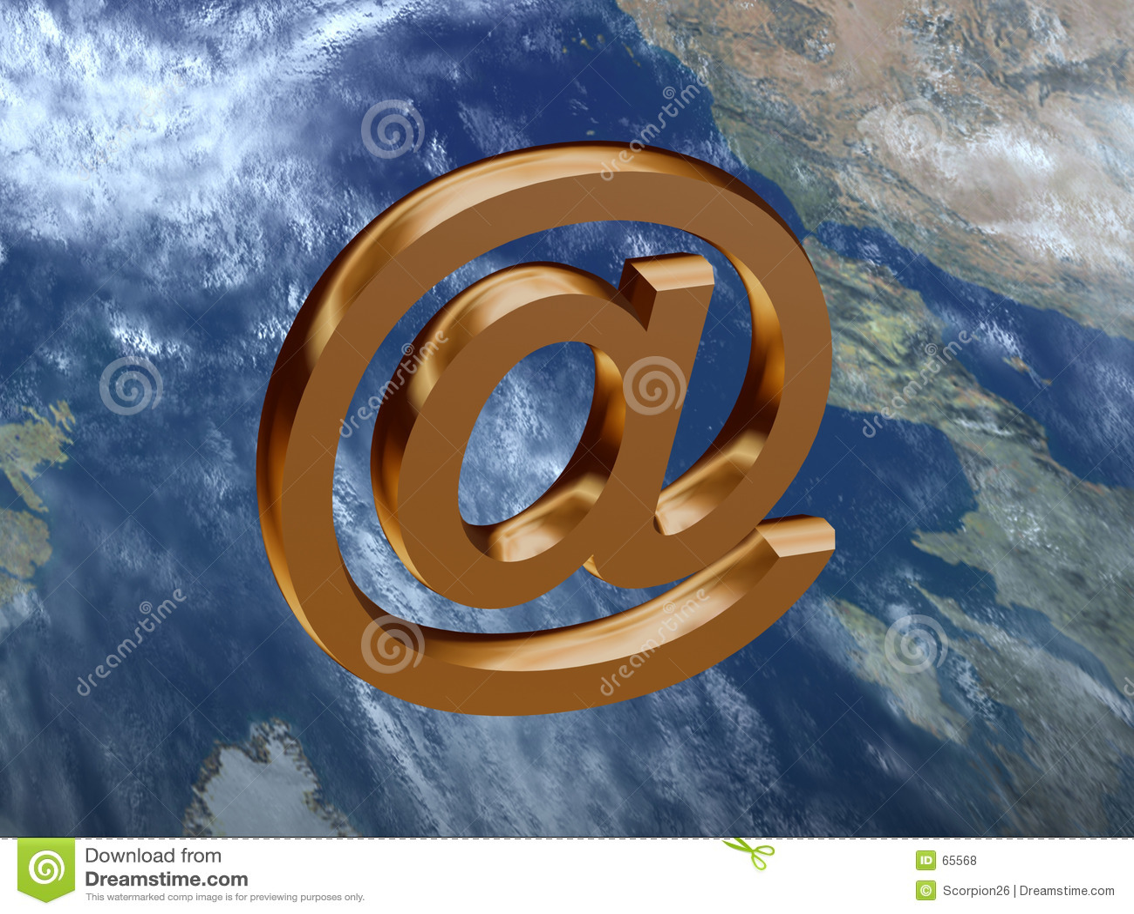 Download Signe de courrier illustration stock. Illustration du illustration - 65568