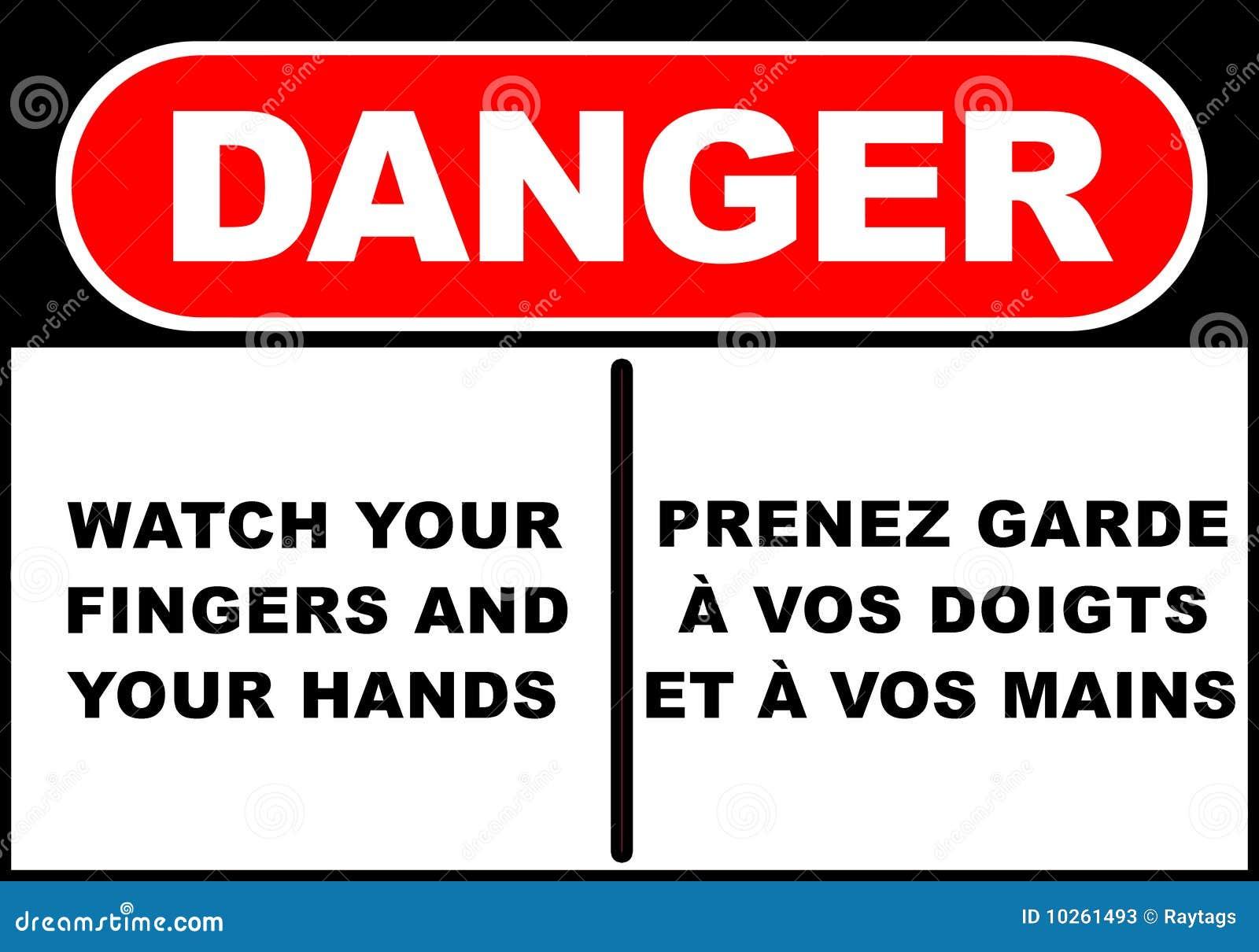 Signe de danger