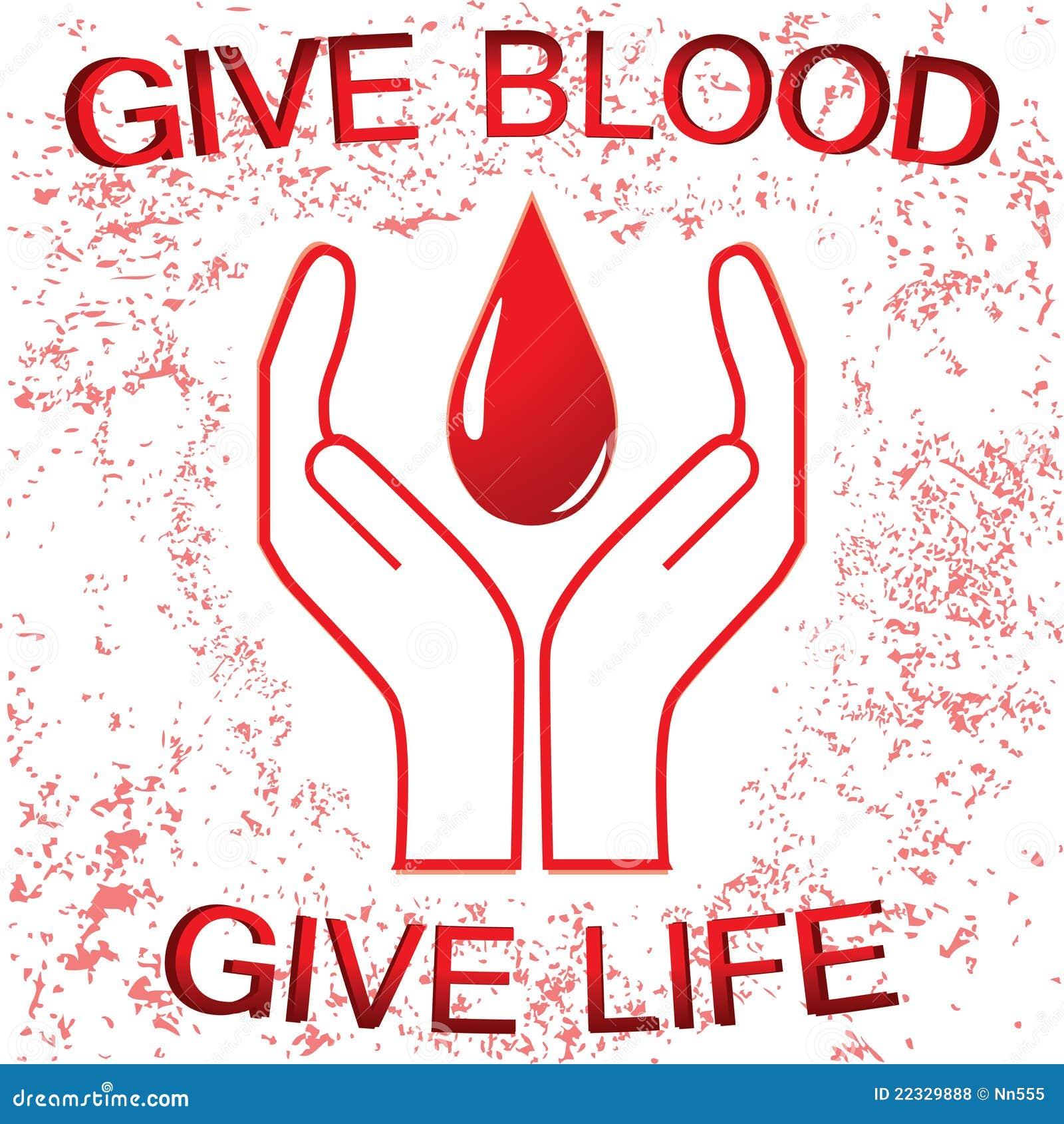 Signe de donation de sang