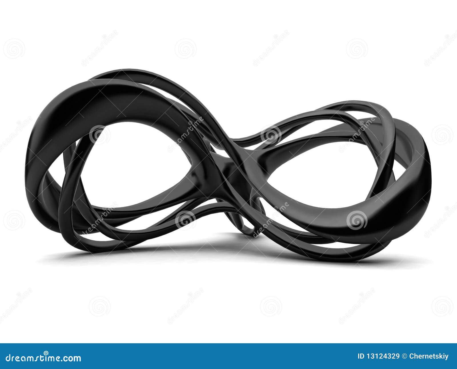 Signe de l 39 infini 3d illustration stock image du concept 13124329 - Le signe de l infini ...