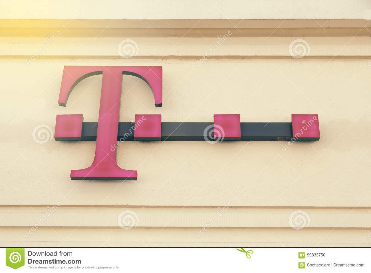 Signe 2 de magasin de T-Mobile