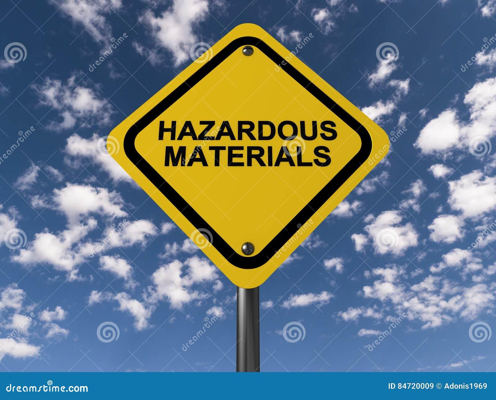 Signe de matériaux dangereux