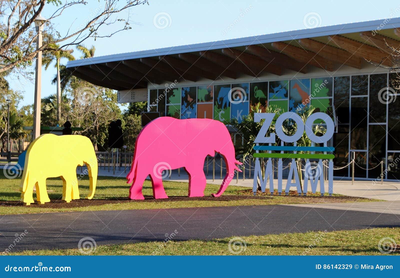 Signe de Miami de zoo