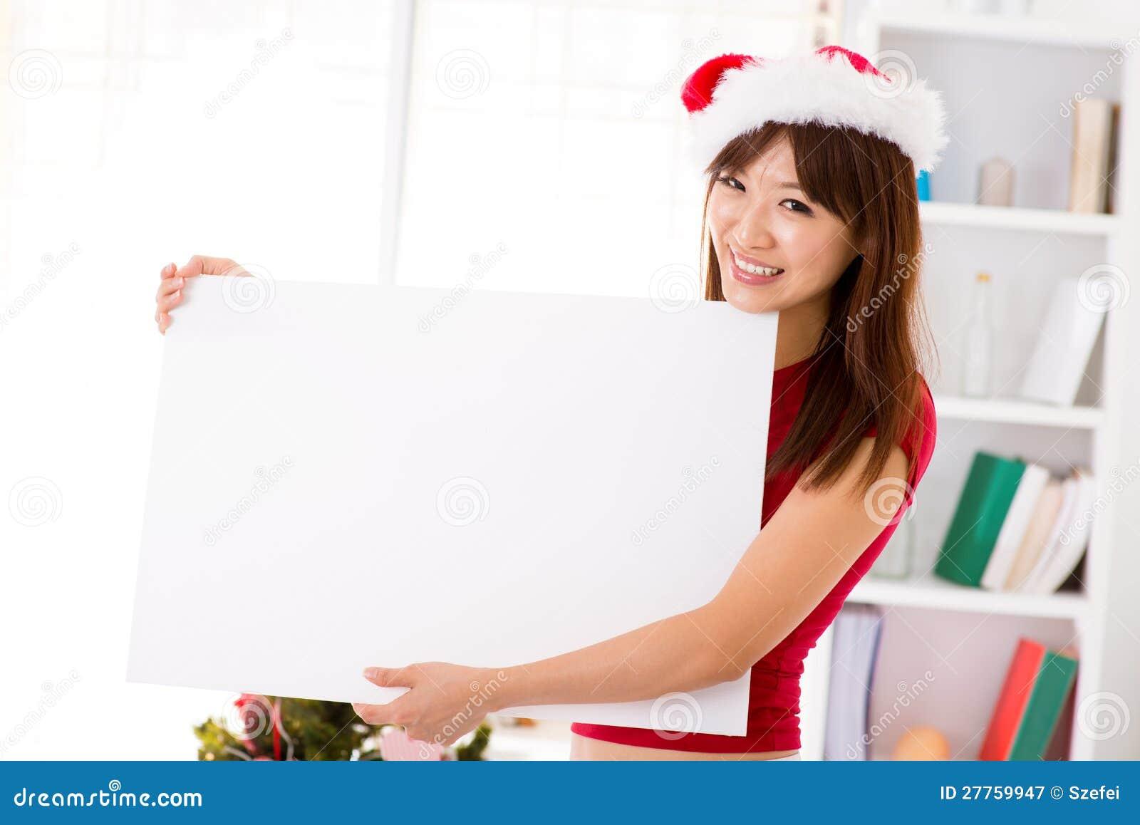 Signe de panneau-réclame de Noël