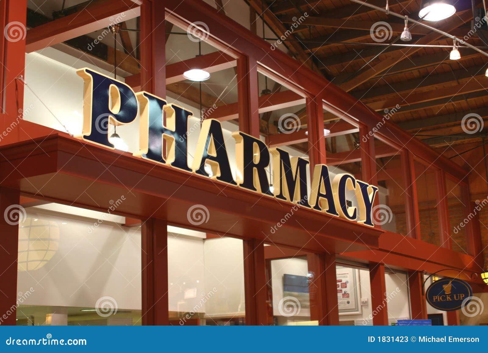 Signe de pharmacie