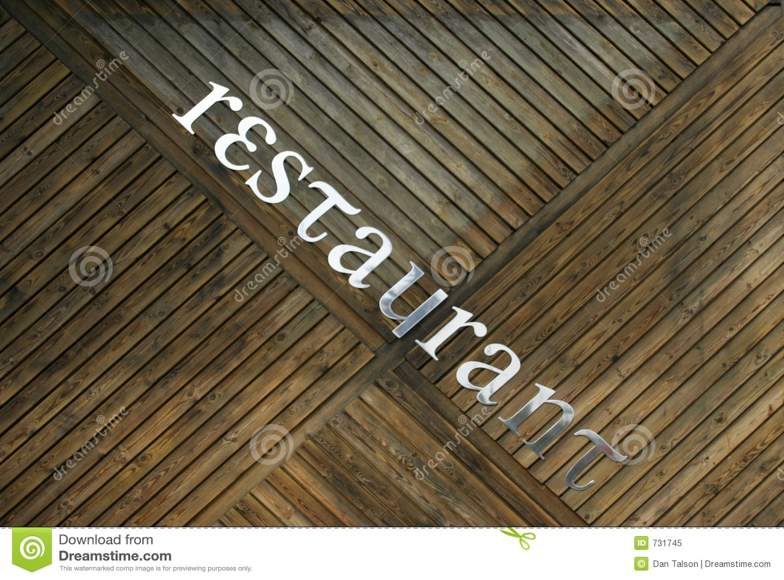 Signe de restaurant