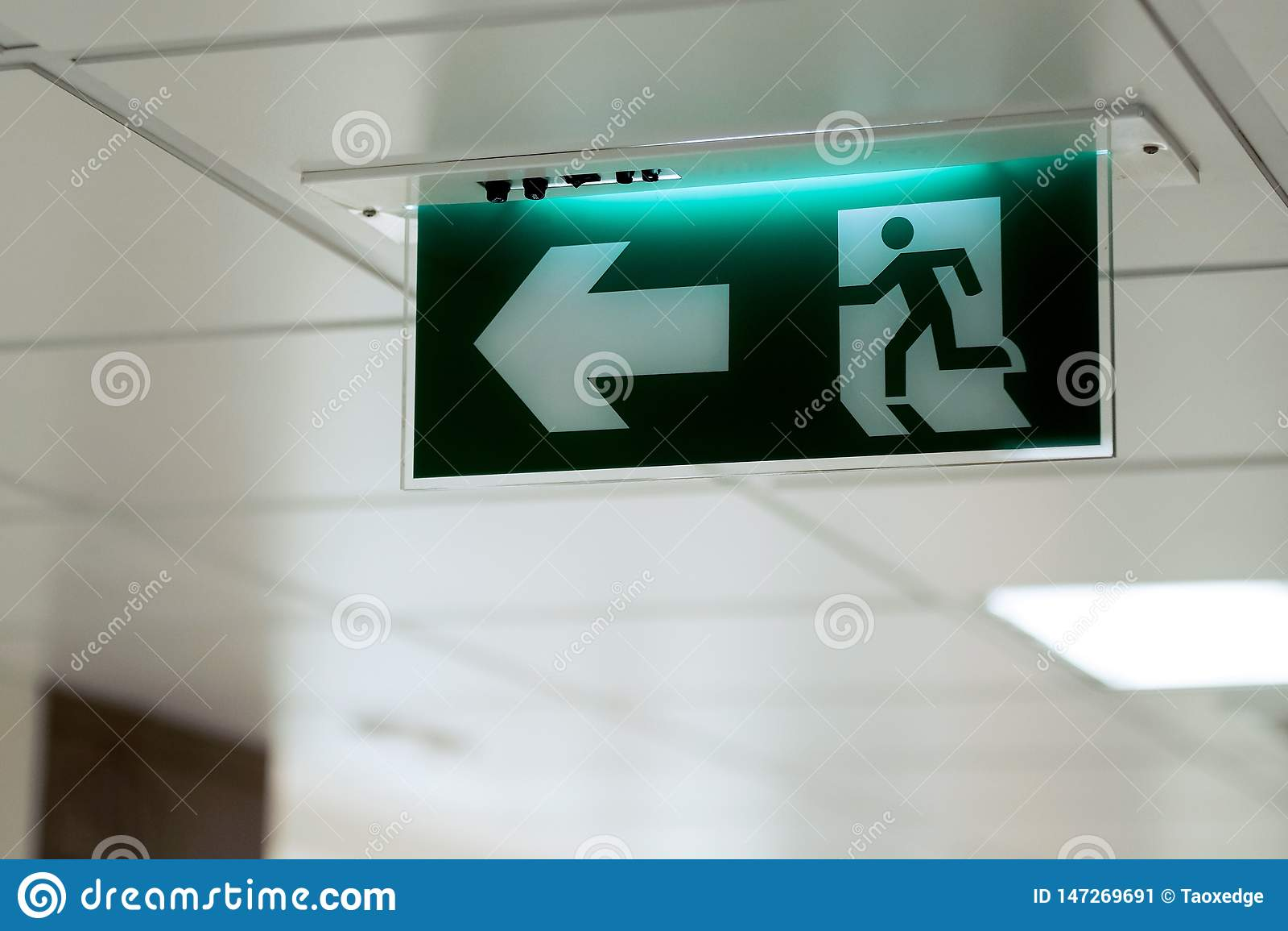 Signe de sortie de secours