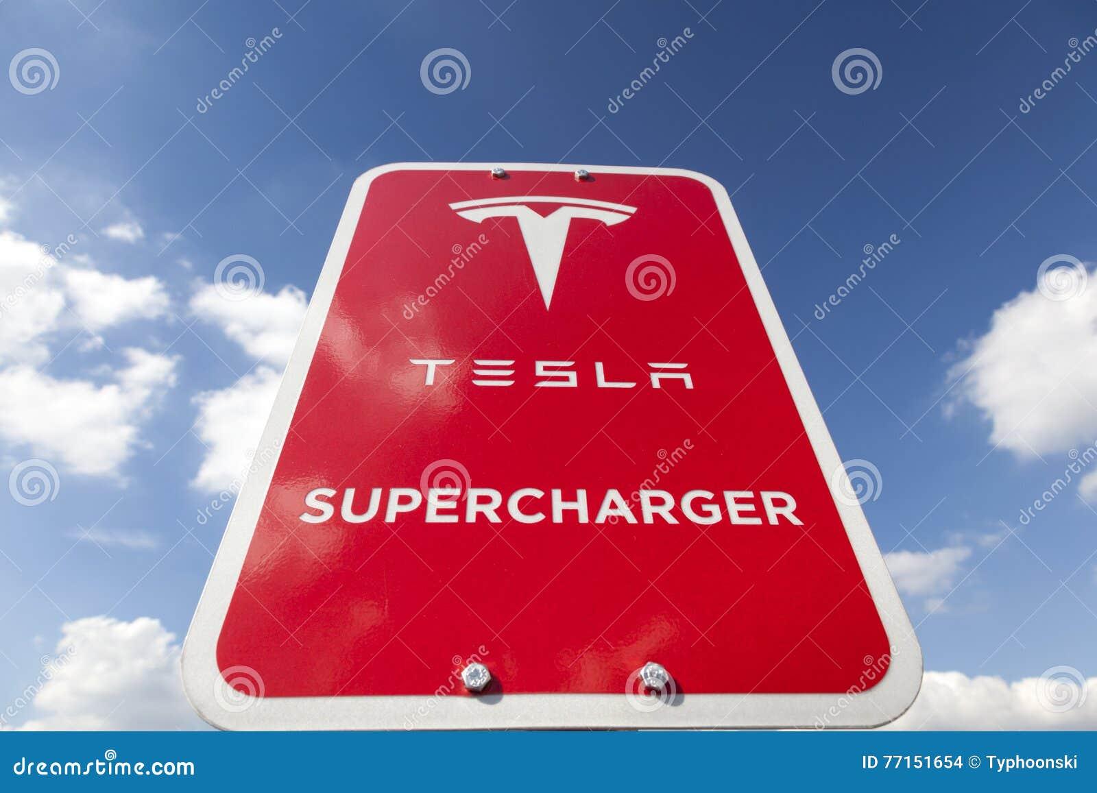 Signe de surchauffeur de Tesla